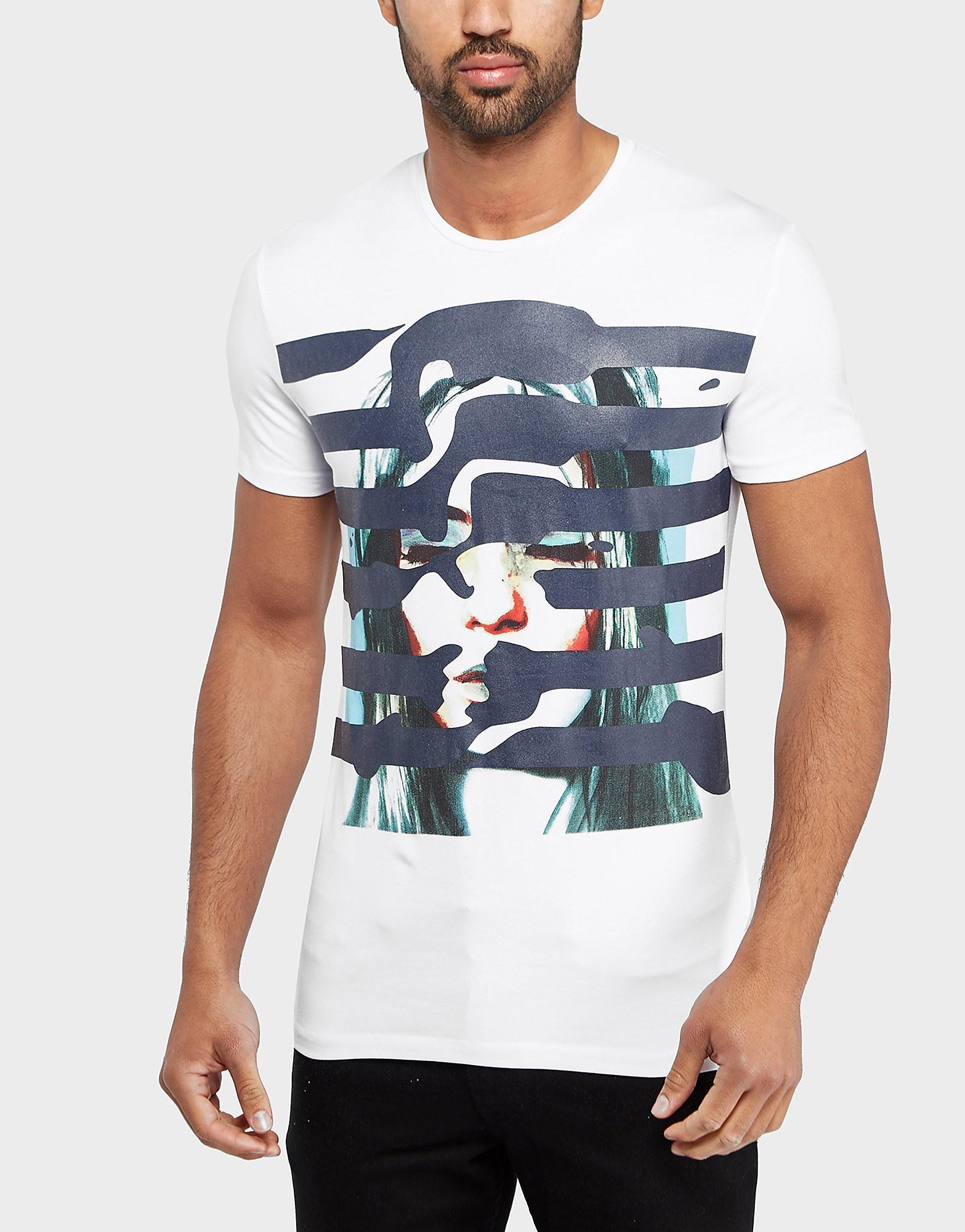 Antony Morato Face Stripe Short Sleeve T-Shirt