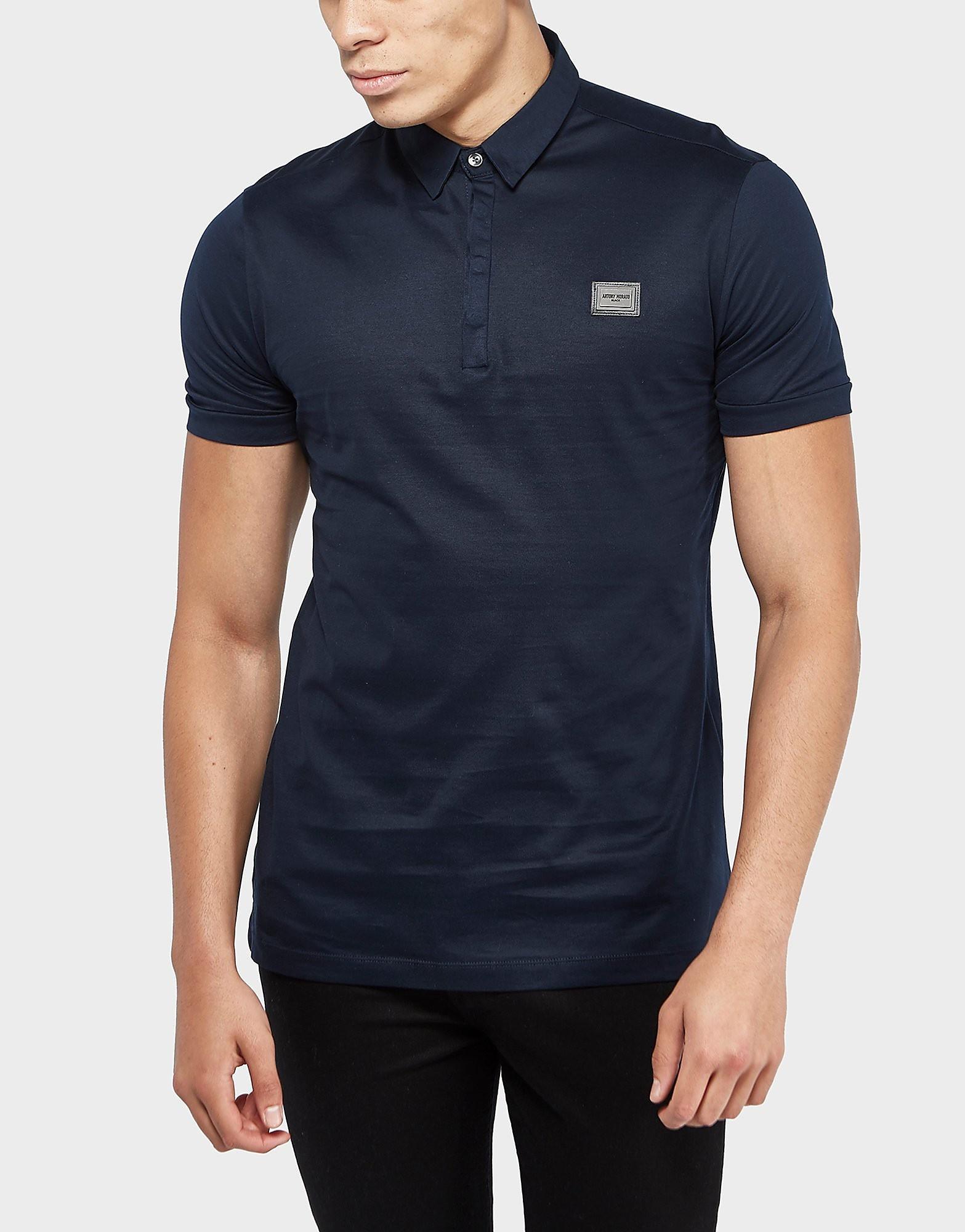 Antony Morato Plaque Short Sleeve Polo Shirt