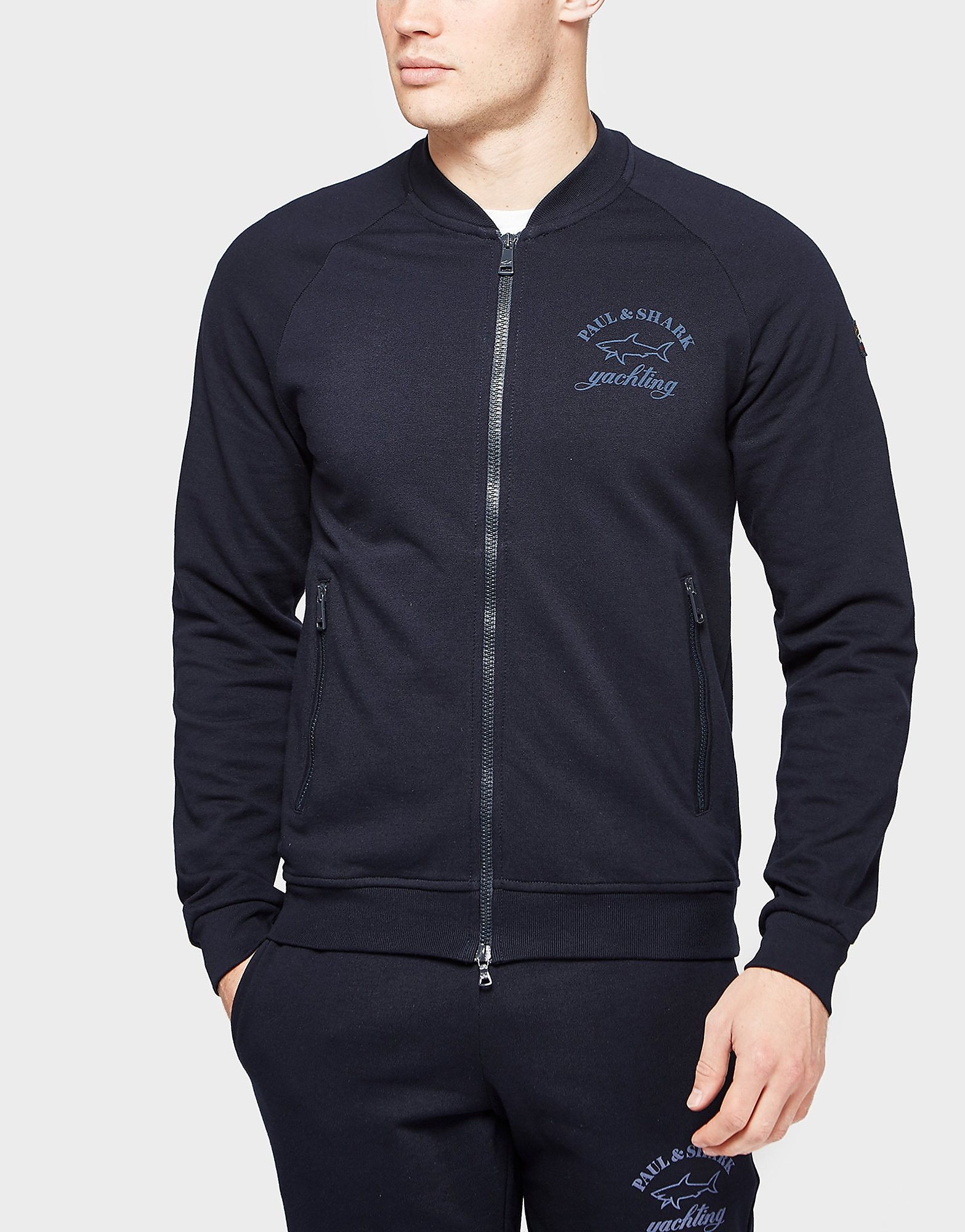 Paul and Shark Fleece Bomber Jacket - Exclusive