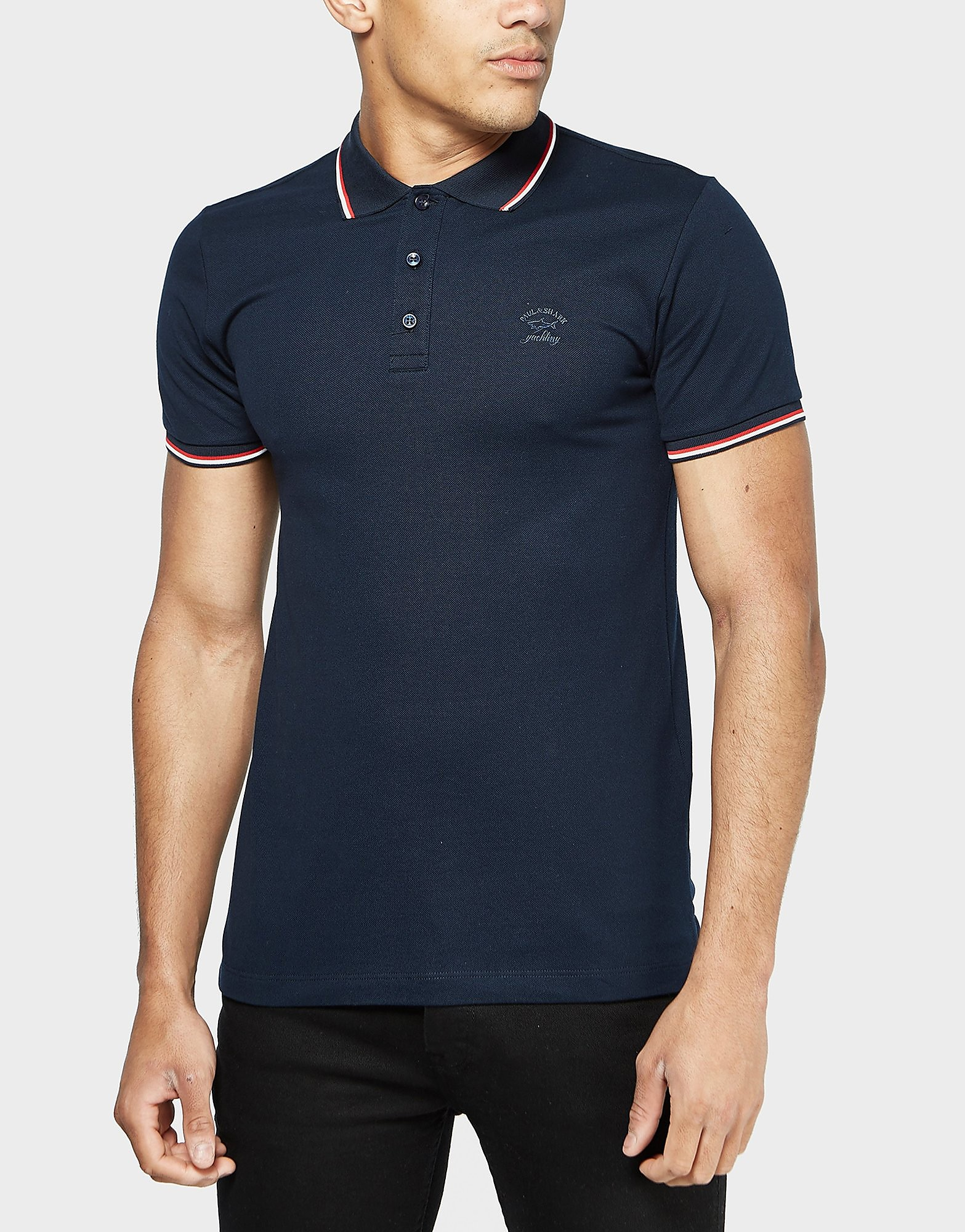 Paul and Shark Tipped Polo Shirt - Exclusive