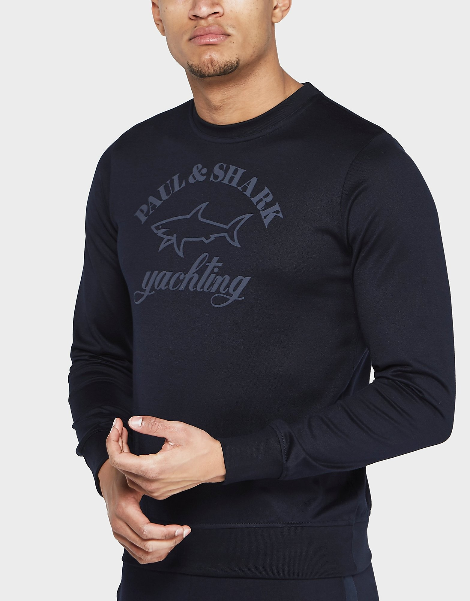 Paul and Shark Logo Crew Sweatshirt