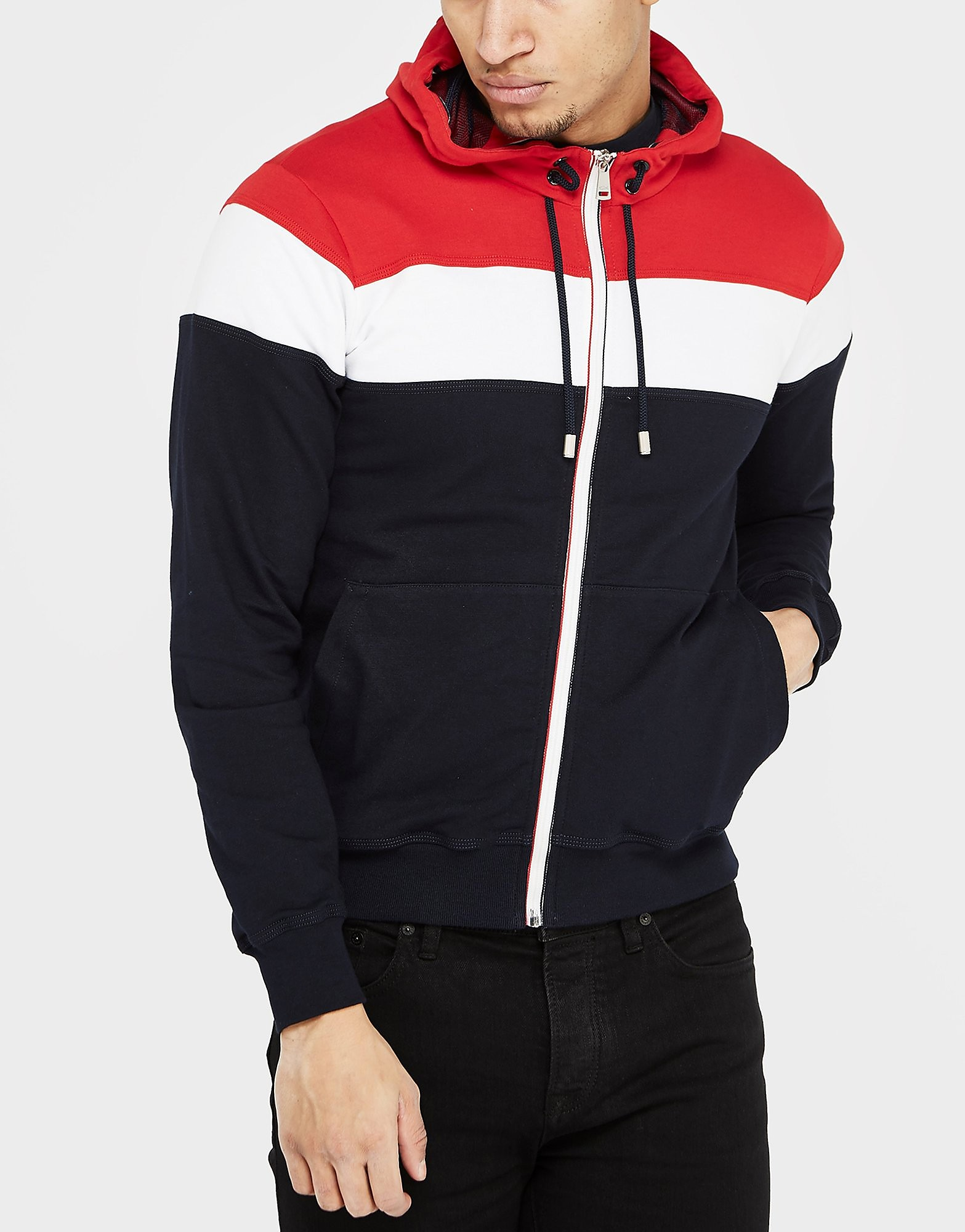 Paul and Shark Block Hooded Jacket