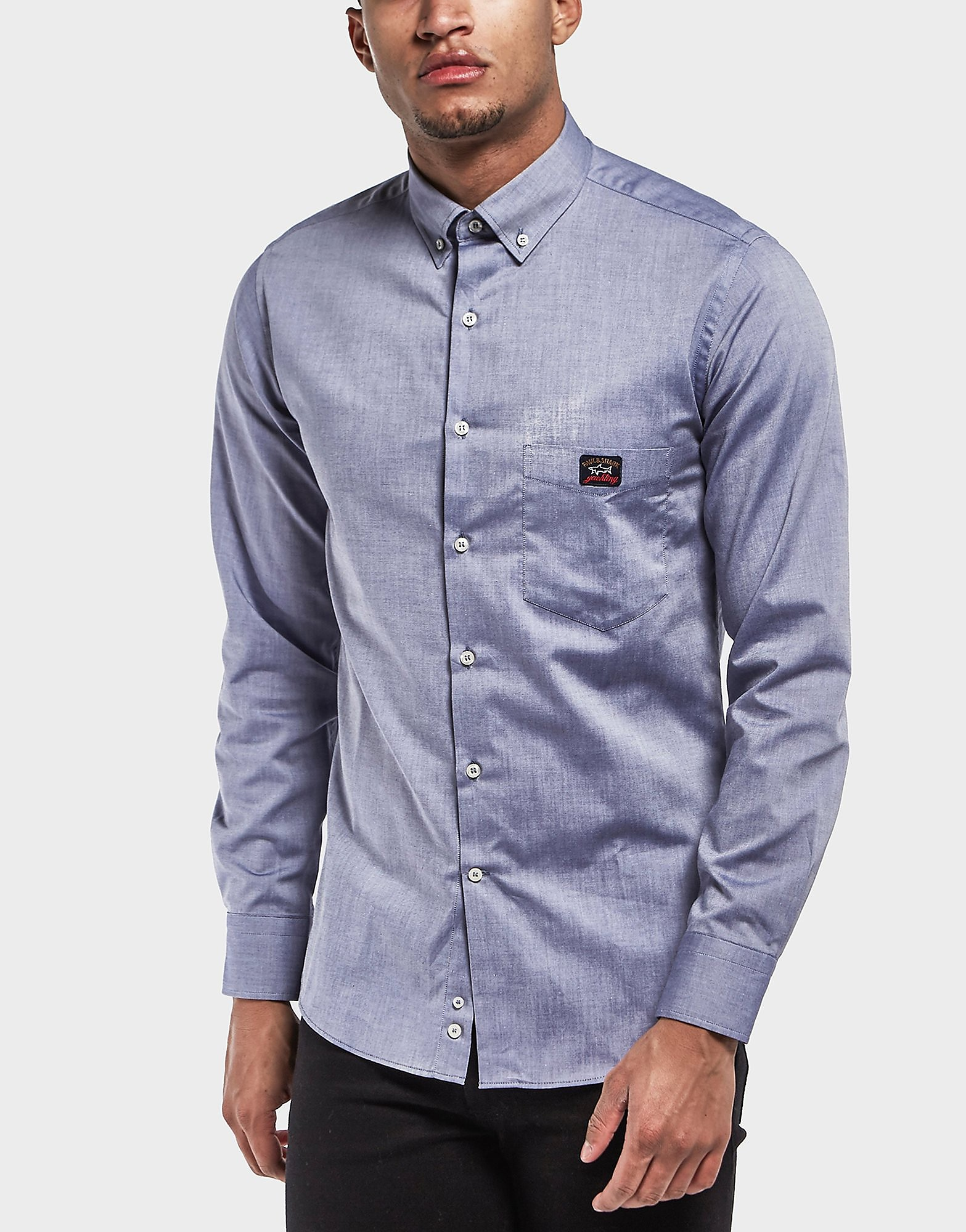 Paul and Shark Oxford Long Sleeve Shirt