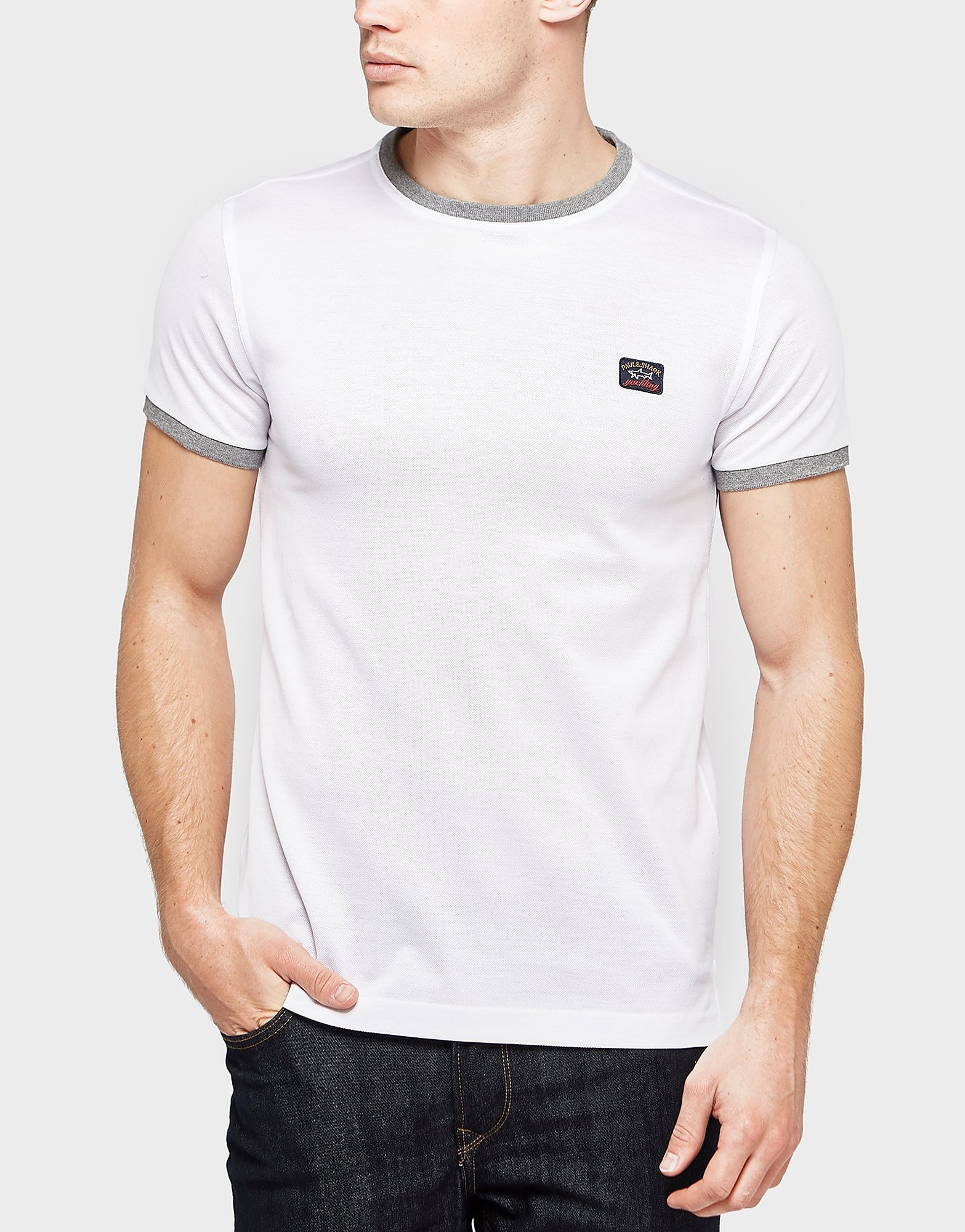 Paul and Shark Ringer Pique Short Sleeve T-Shirt - Exclusive