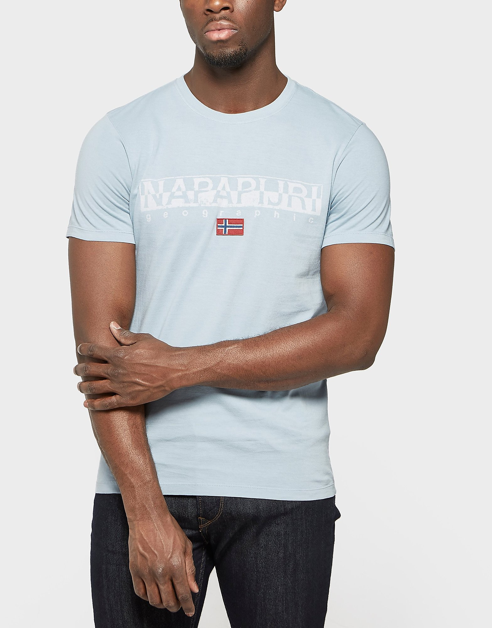 Napapijri Graphic Short Sleeve T-Shirt