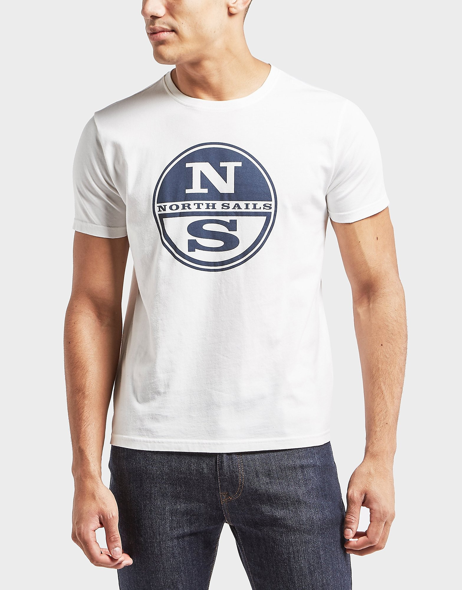 NORTH SAILS Large Logo Short Sleeve T-Shirt