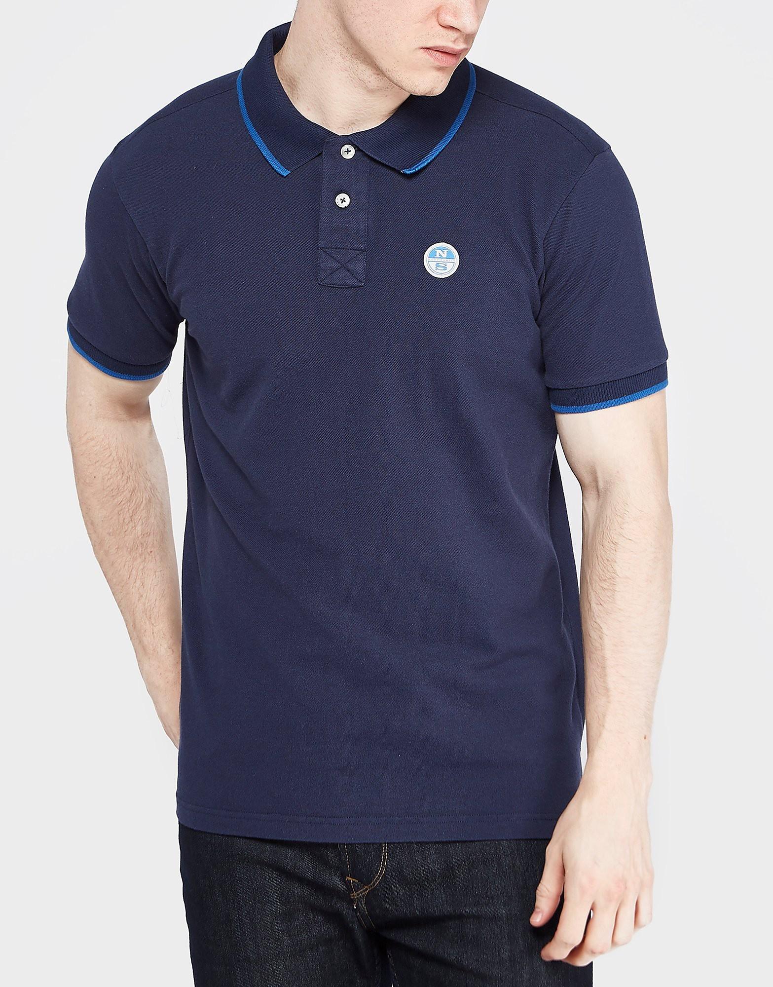 NORTH SAILS Pique Tipped Polo Shirt