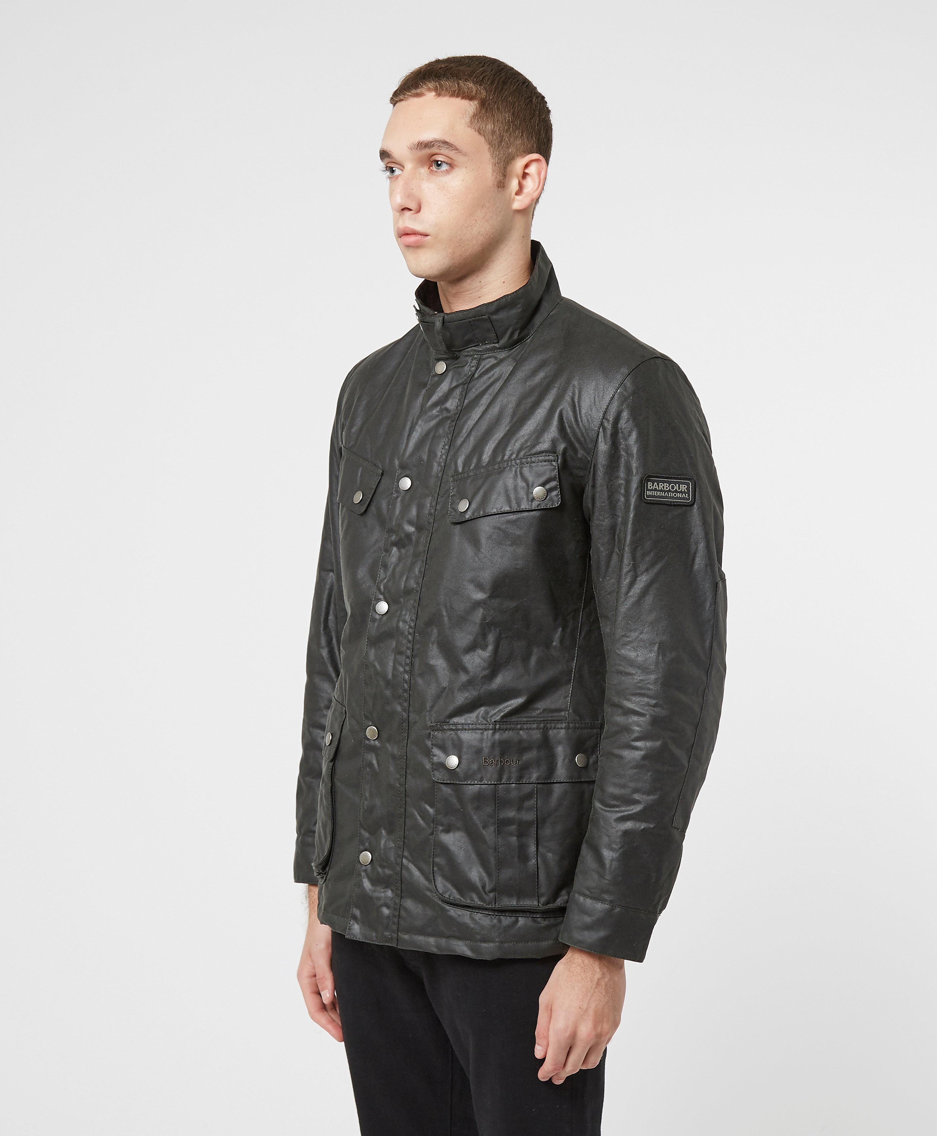 Barbour International Duke Wax Lightweight Jacket