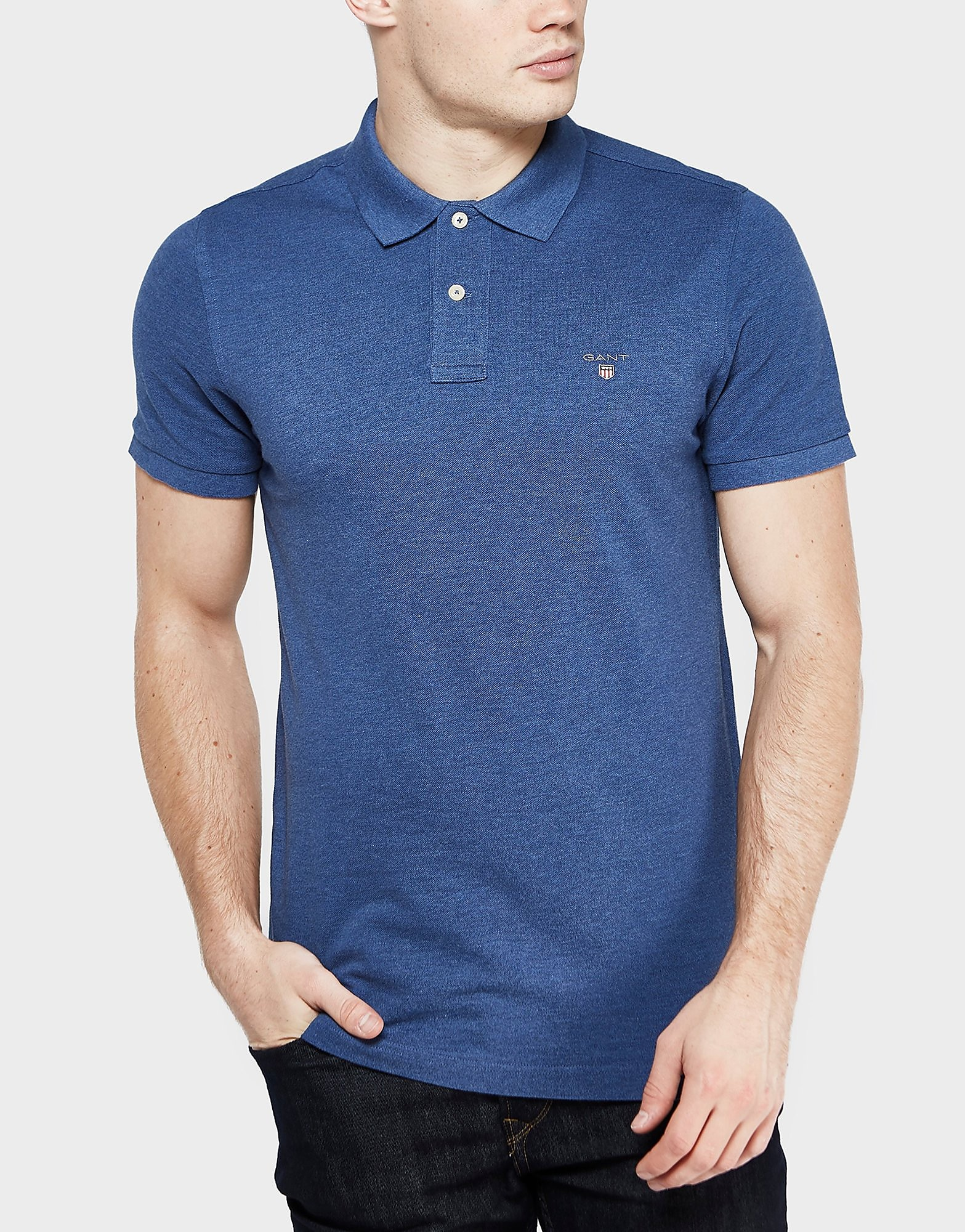GANT Pique Rugger Short Sleeve Polo Shirt