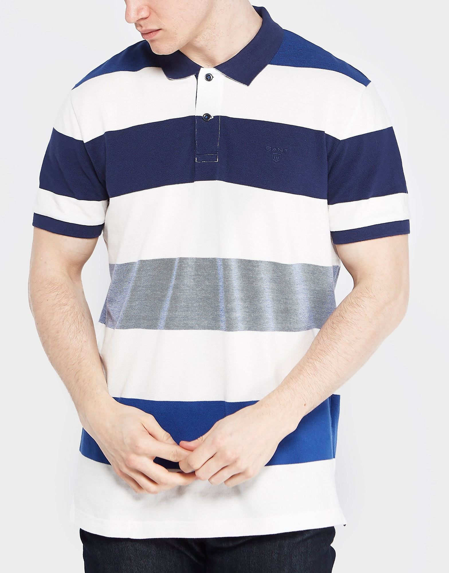 GANT Oxford Stripe Polo Shirt