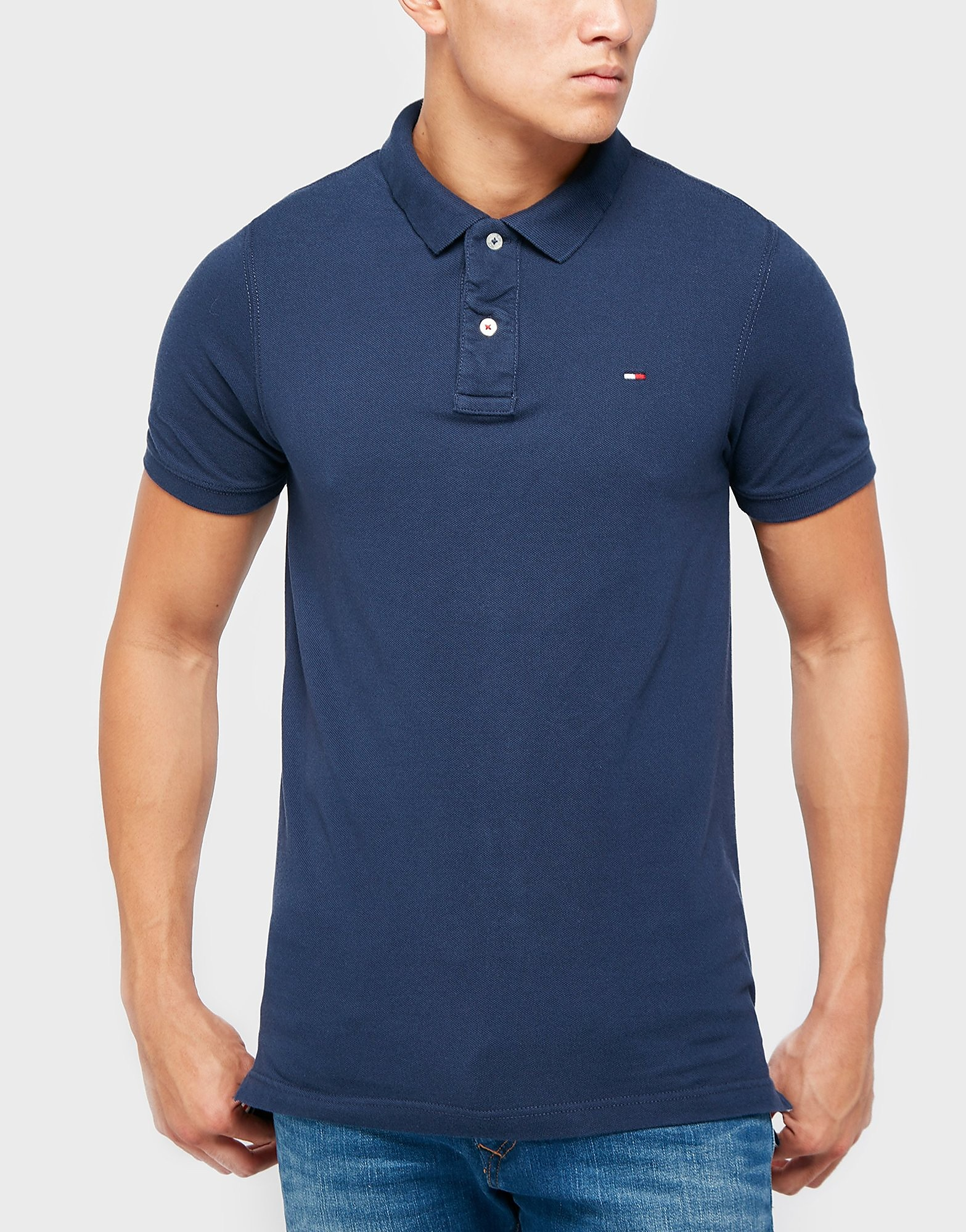 Tommy Hilfiger Flag Short Sleeve Polo Shirt
