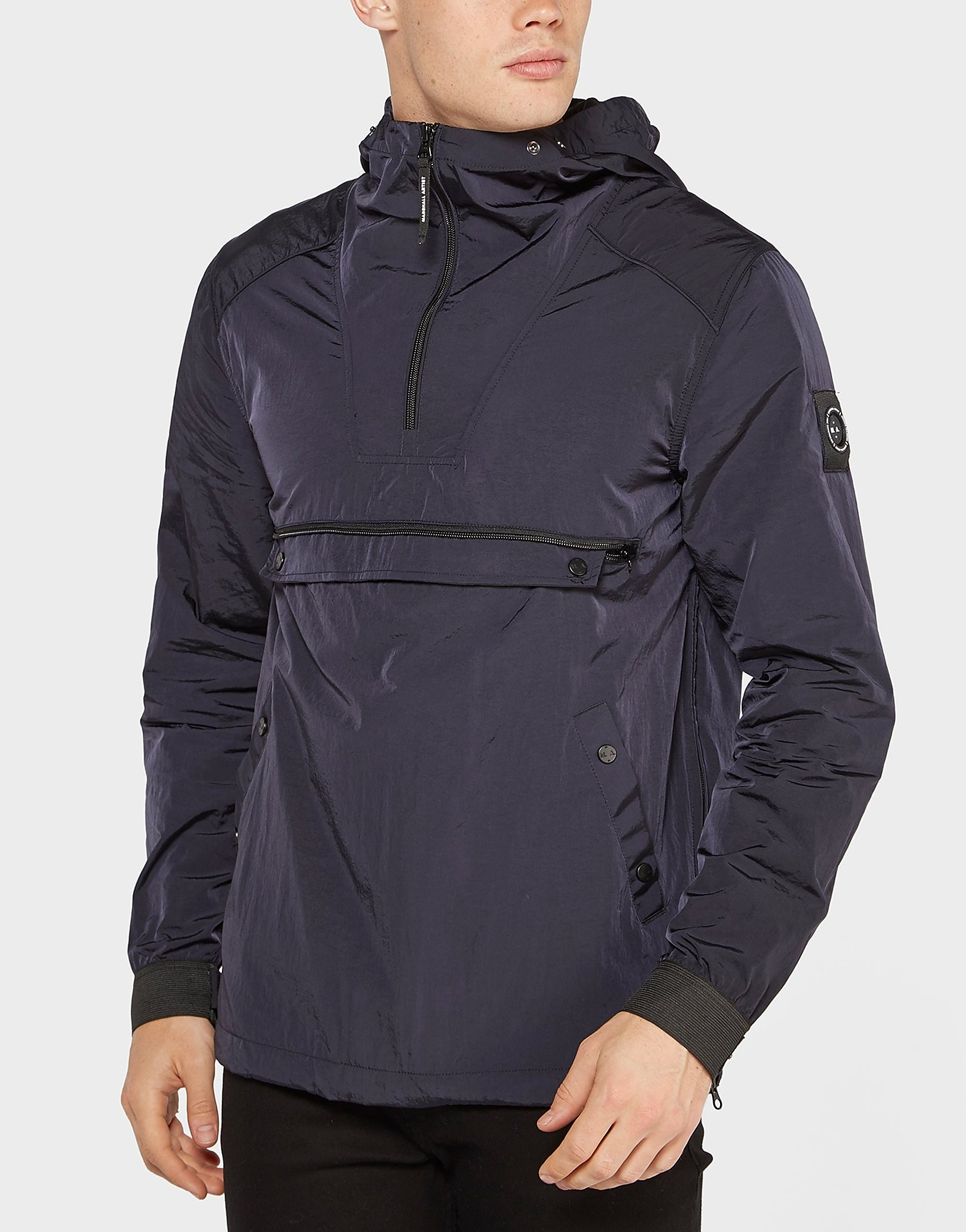 Marshall Artist Liquid Nylon Overhead Jacket