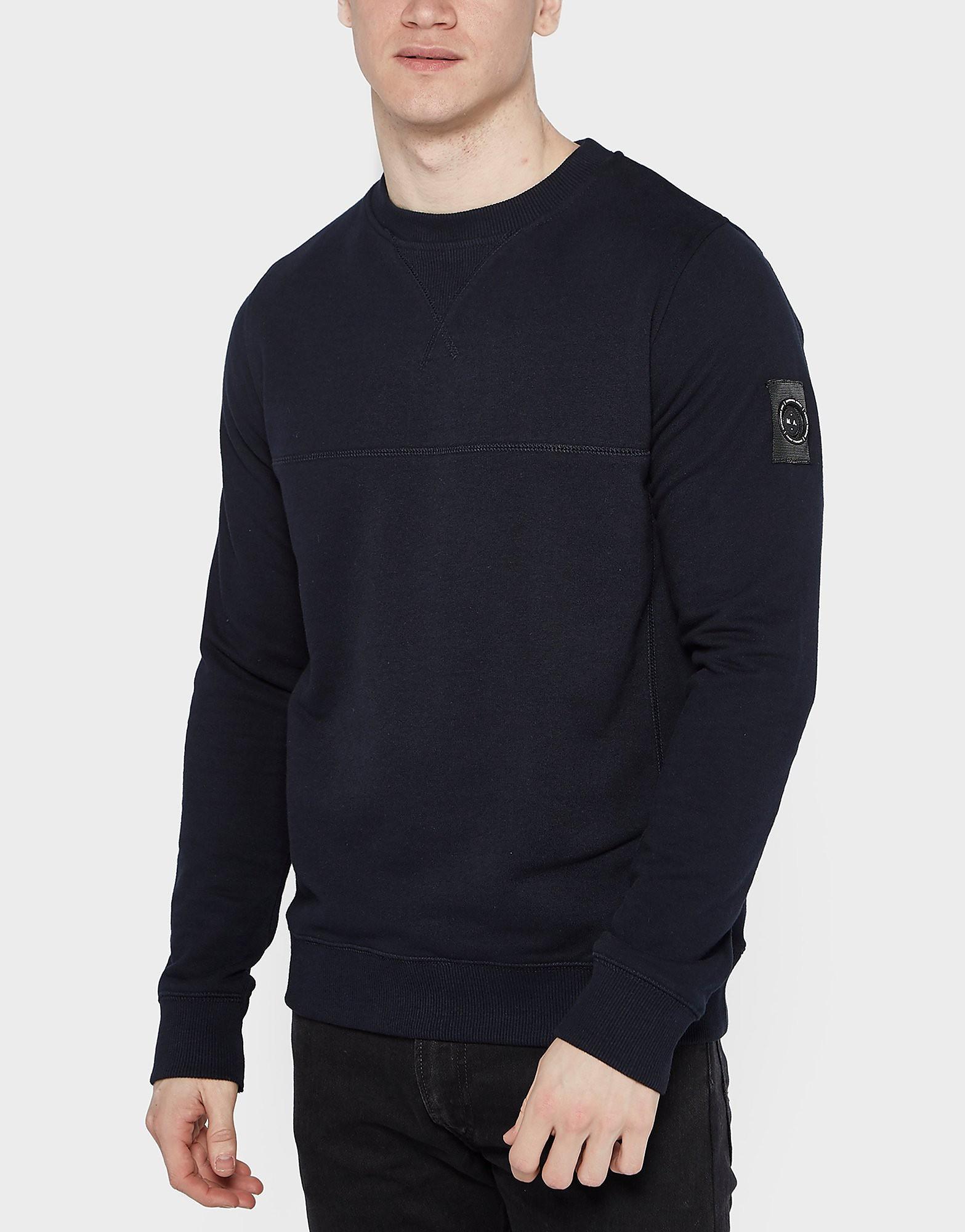 Marshall Artist Siren Crew Sweatshirt  Navy Navy