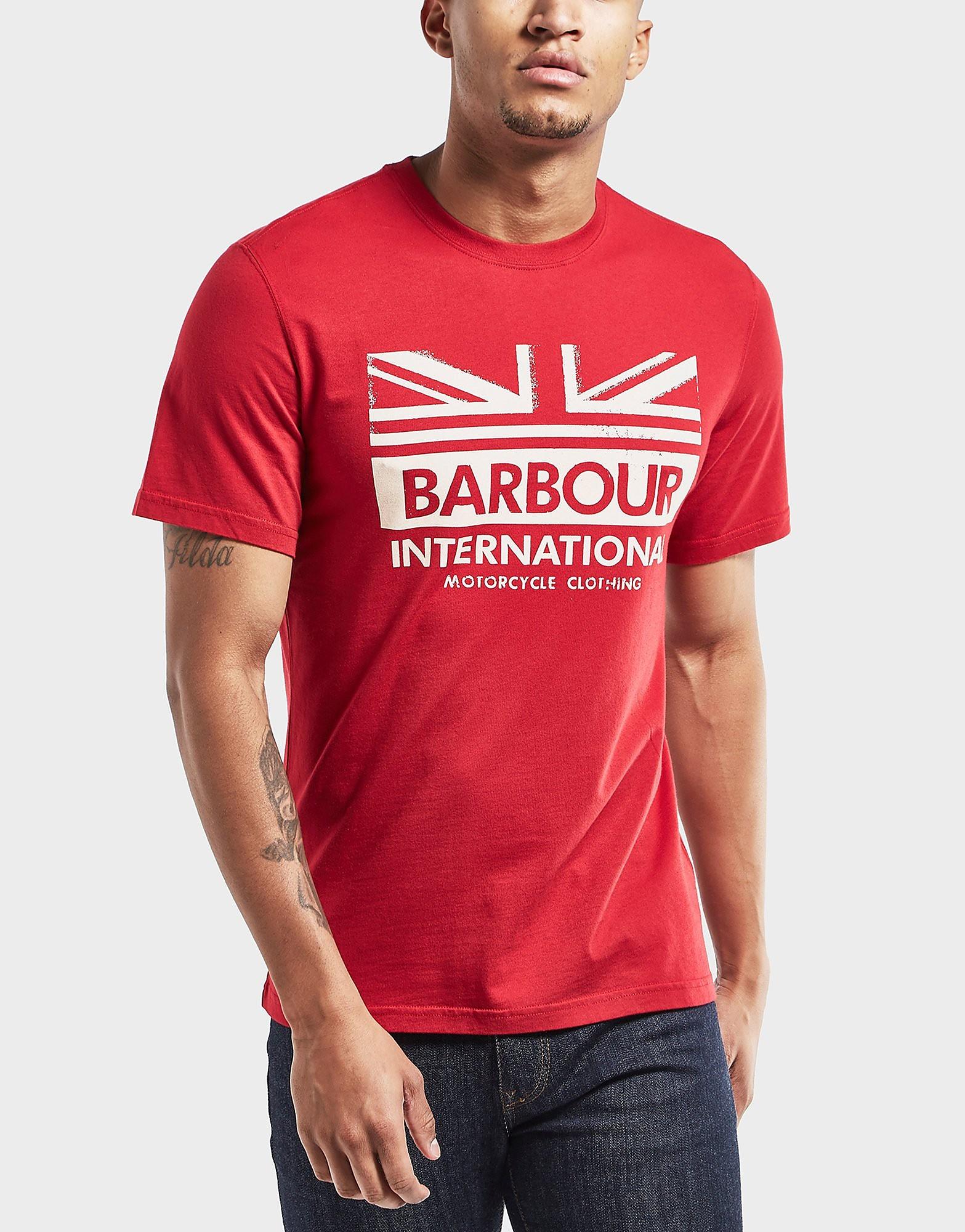 Barbour International Union Logo T-Shirt