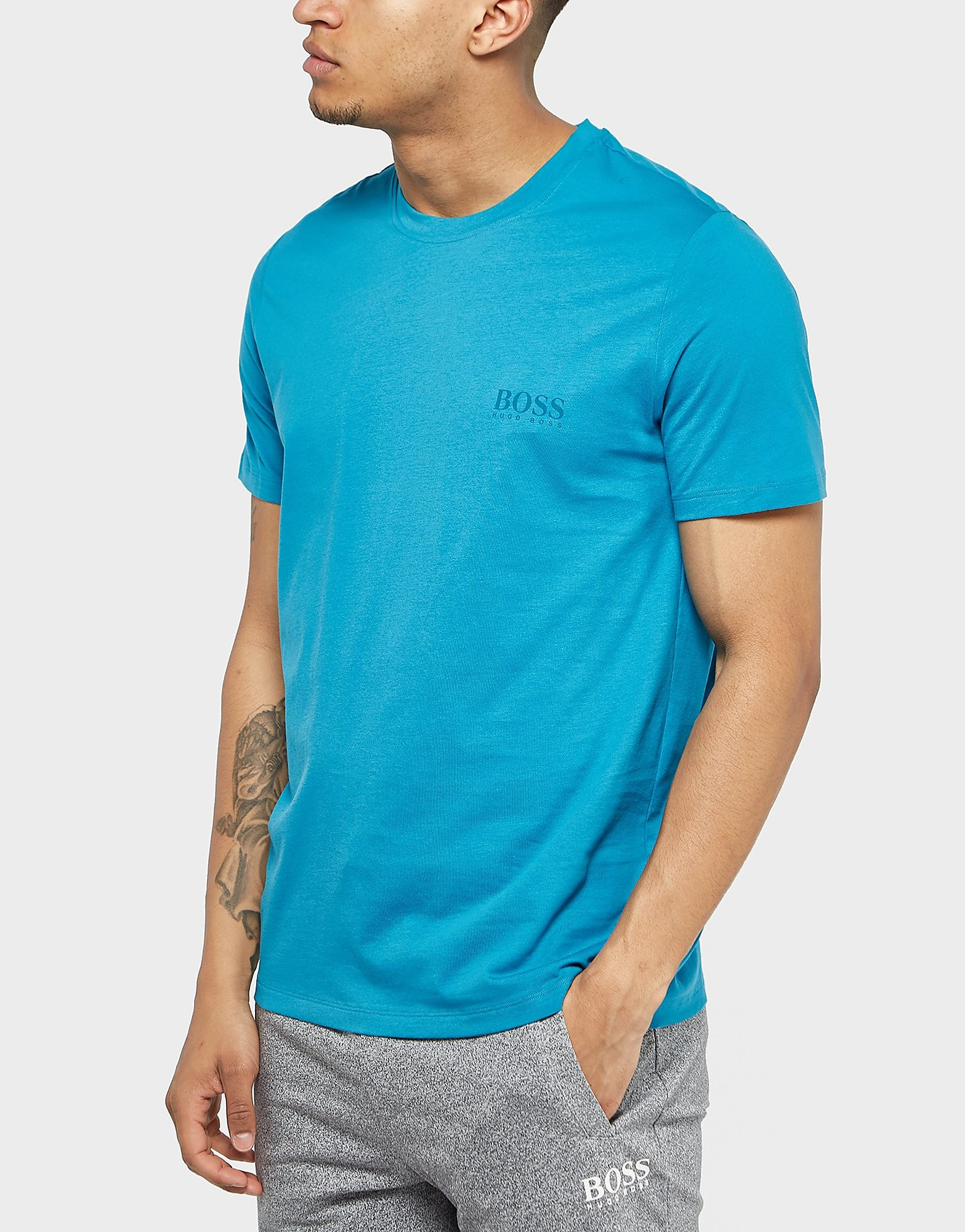 BOSS Tonal Crew Short Sleeve T-Shirt
