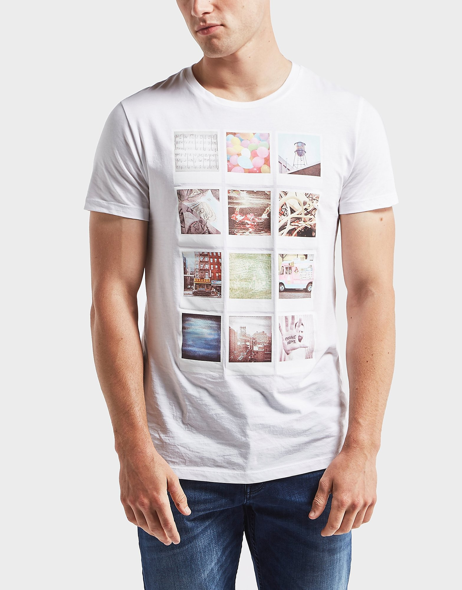 BOSS Polaroid Print Short Sleeve T-Shirt