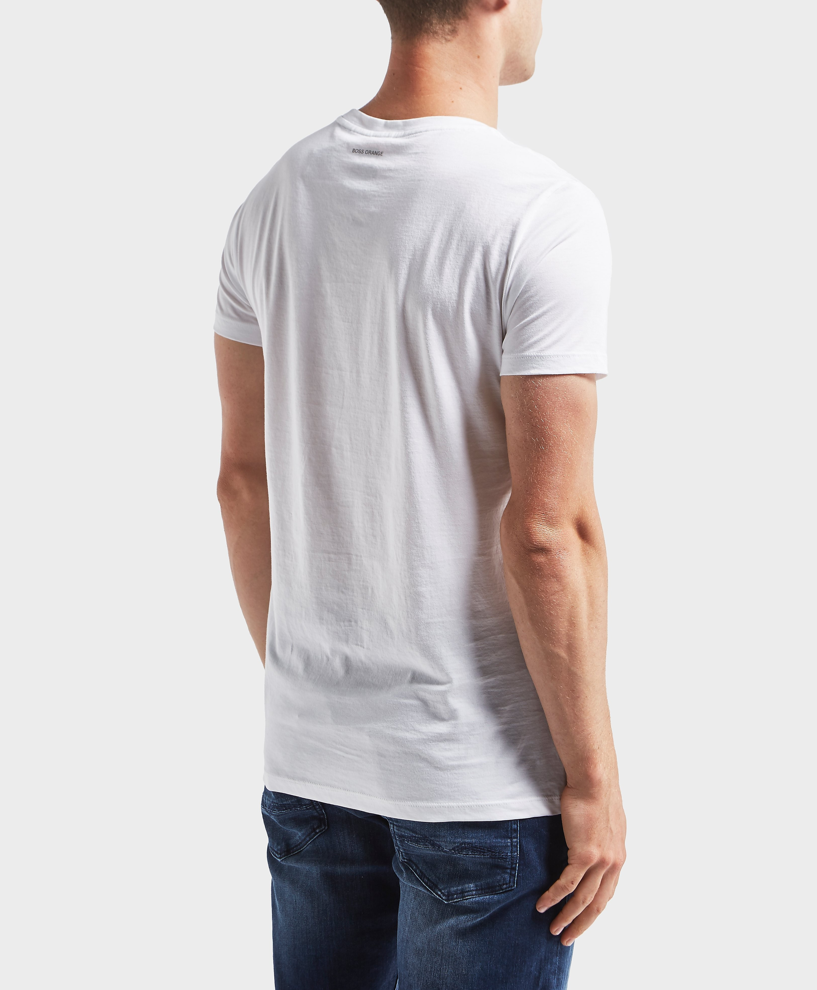 BOSS Orange Polaroid Print Short Sleeve T-Shirt