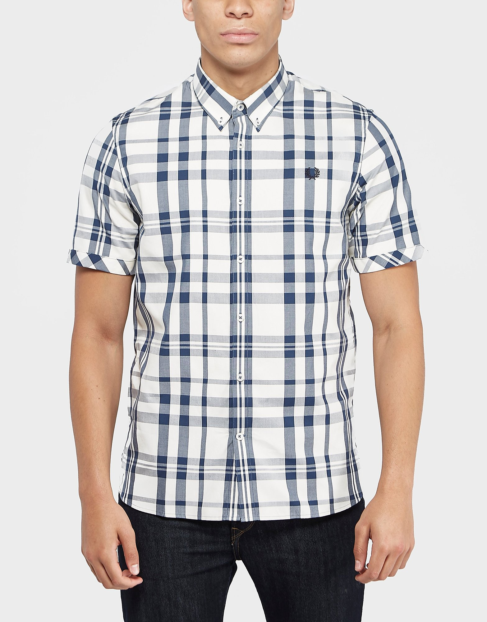 Fred Perry Check Short Sleeve Shirt
