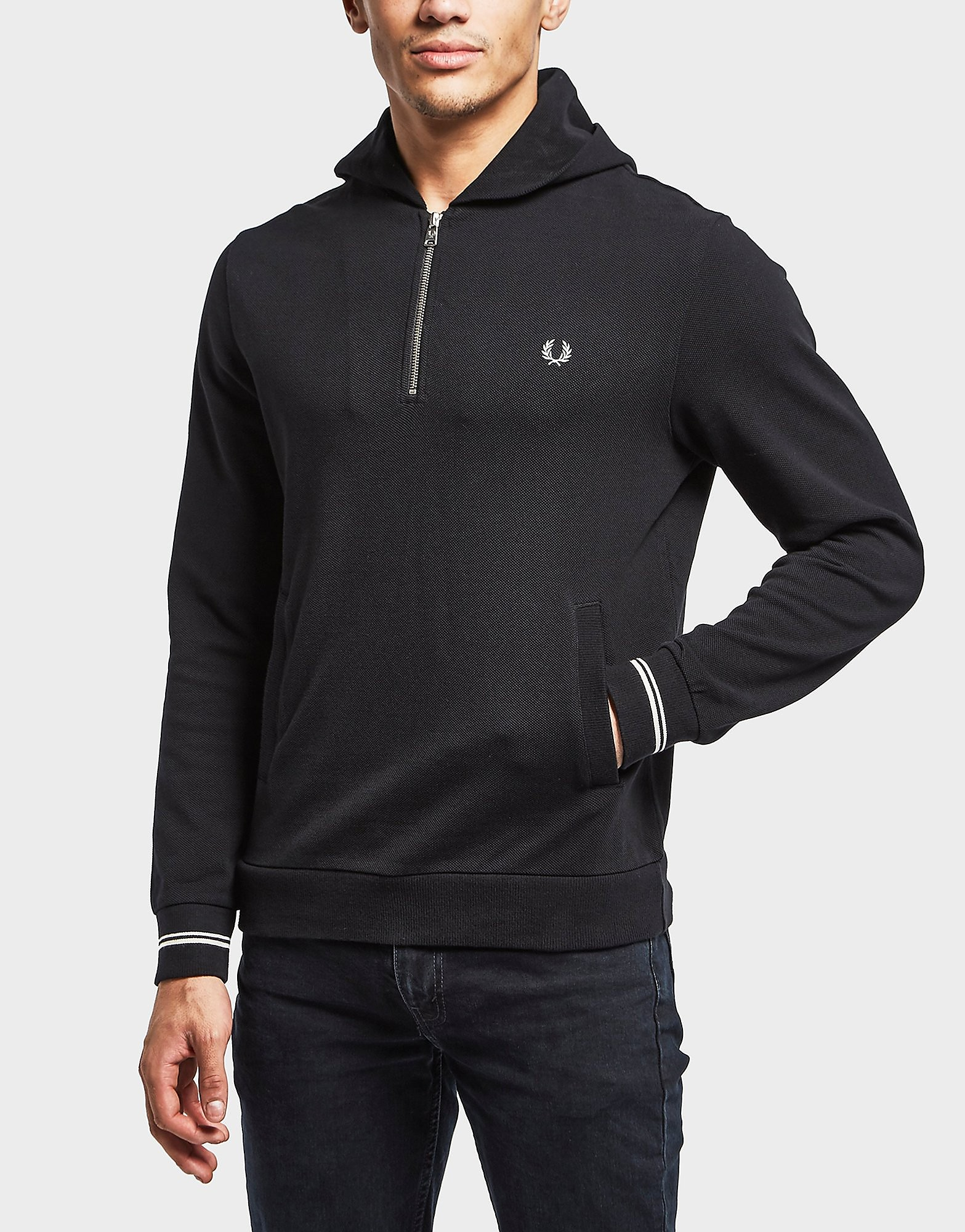 Fred Perry Pique Full Zip Hoody - Exclusive