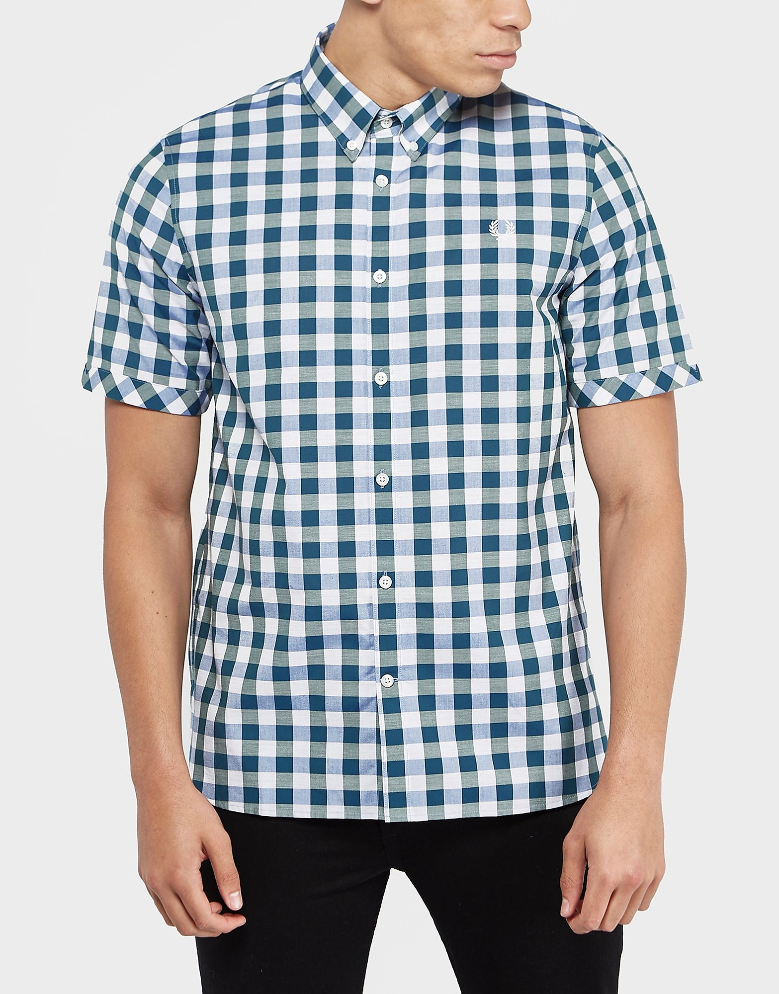 Fred Perry Bold Gingham Short Sleeve Shirt