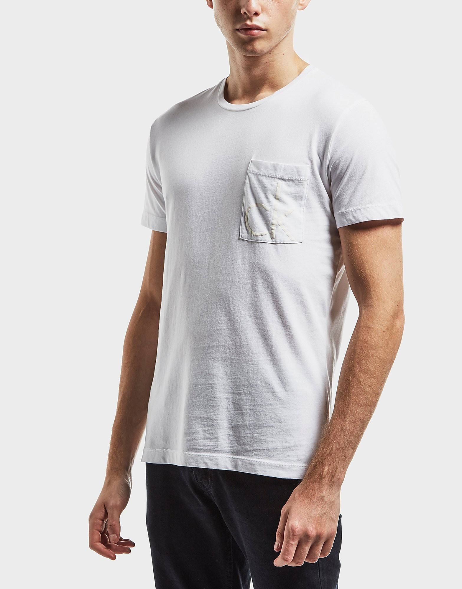 Calvin Klein Pocket Logo Short Sleeve T-Shirt