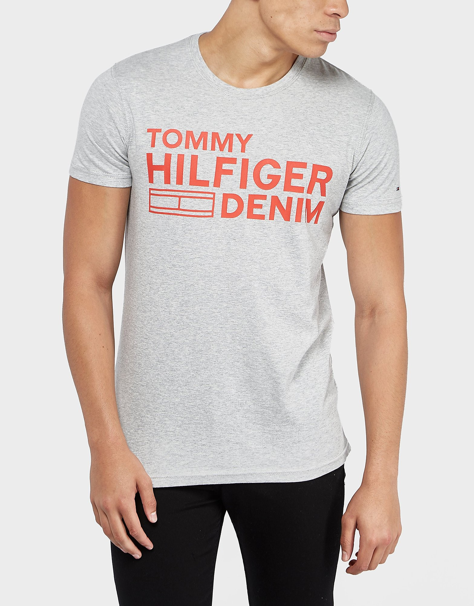 Tommy Hilfiger Branded Short Sleeve T-Shirt