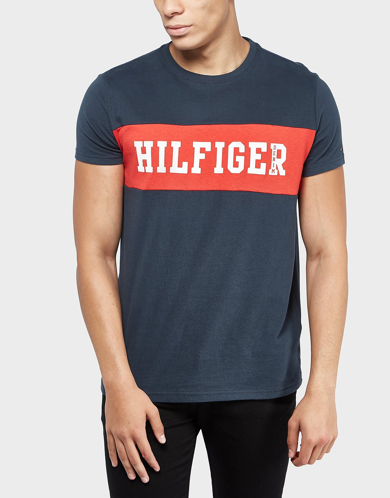 Tommy Hilfiger Panel Logo Short Sleeve T-Shirt