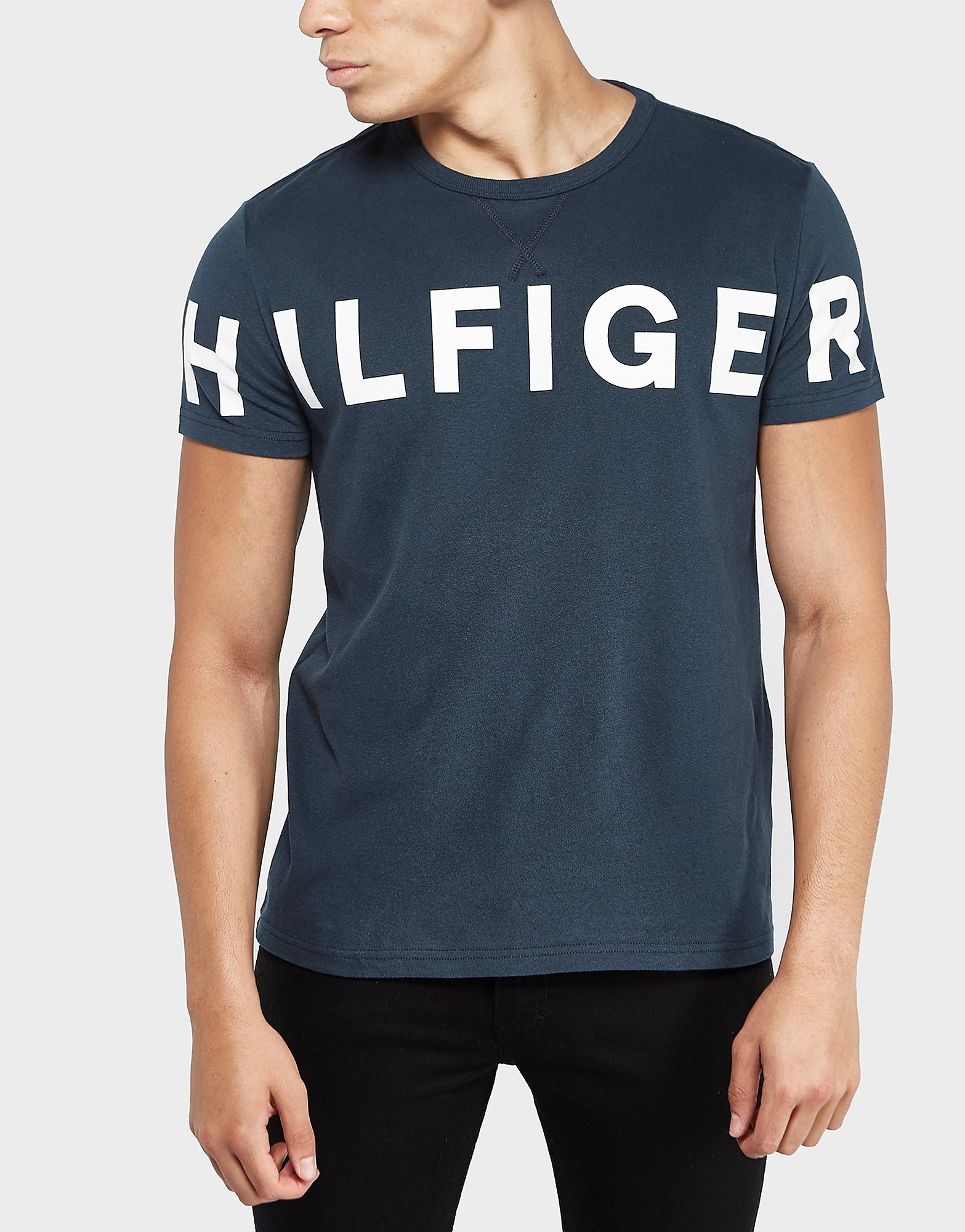Tommy Hilfiger Large Logo Short Sleeve T-Shirt