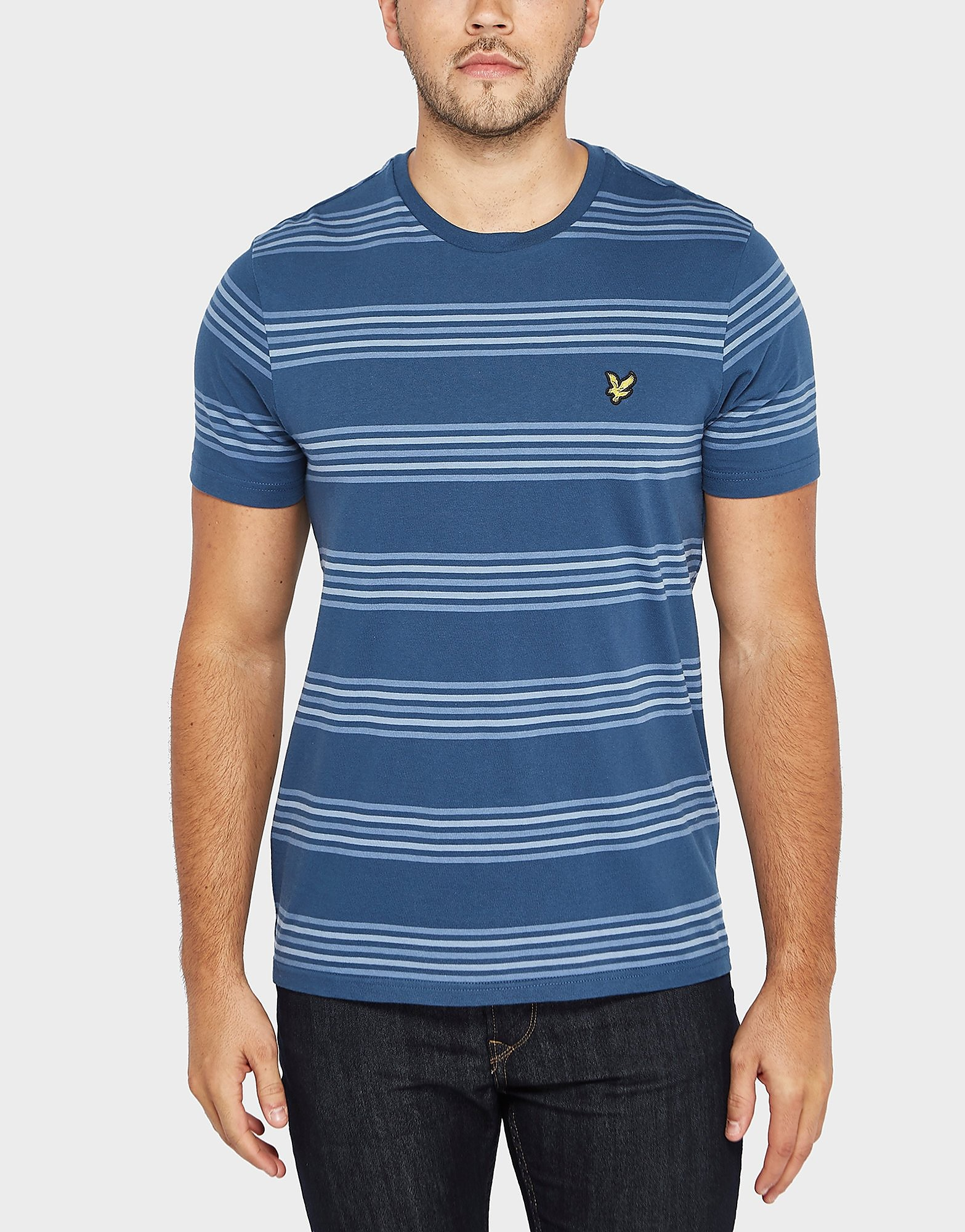 Lyle & Scott Block Stripe Short Sleeve T-Shirt