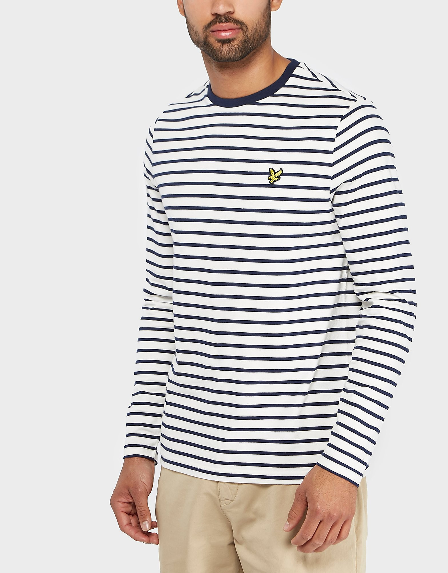 Lyle & Scott Brenton Stripe Long Sleeve T-Shirt