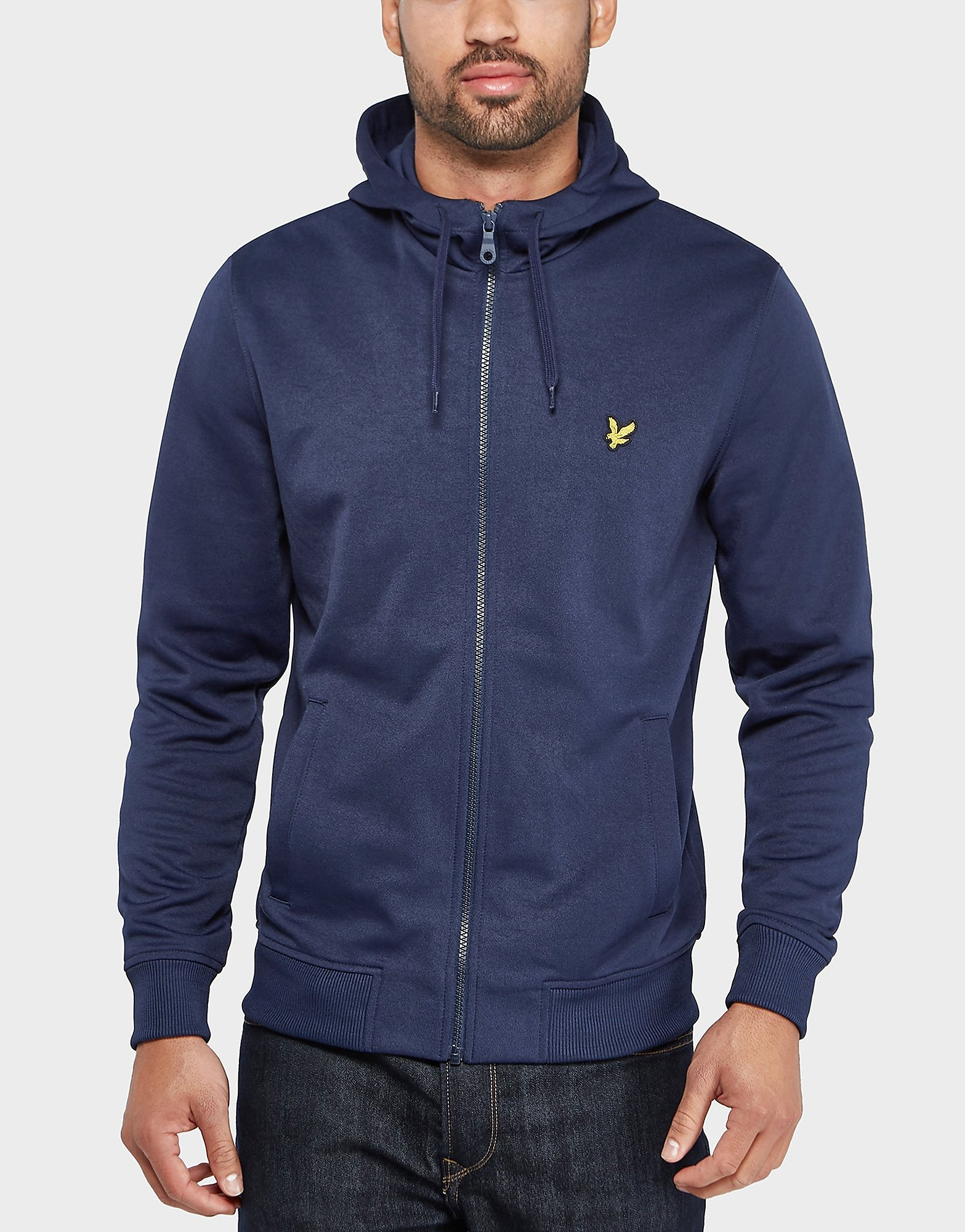 Lyle & Scott Tricot Hooded Track Top