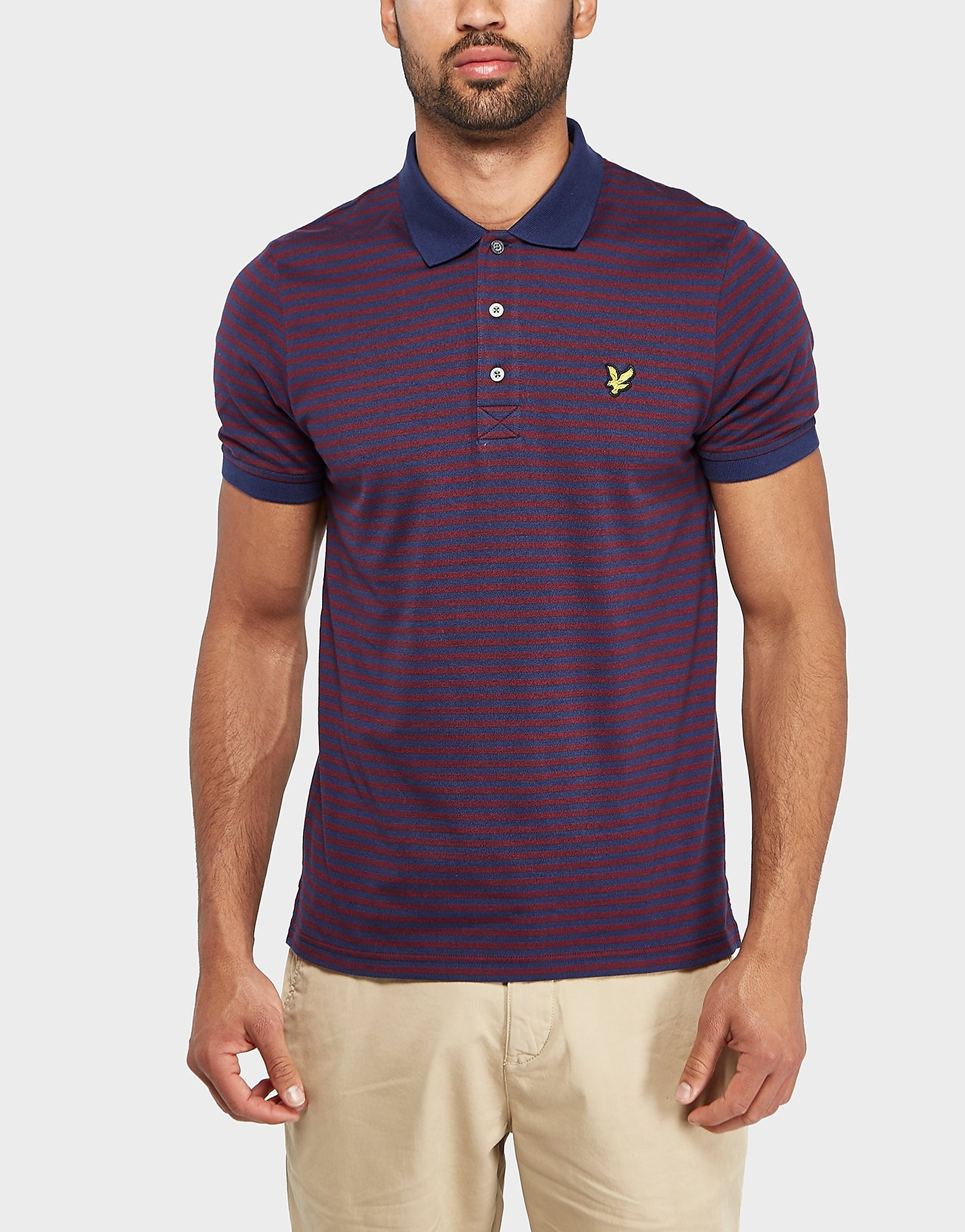 Lyle & Scott Mouline Stripe Polo Shirt