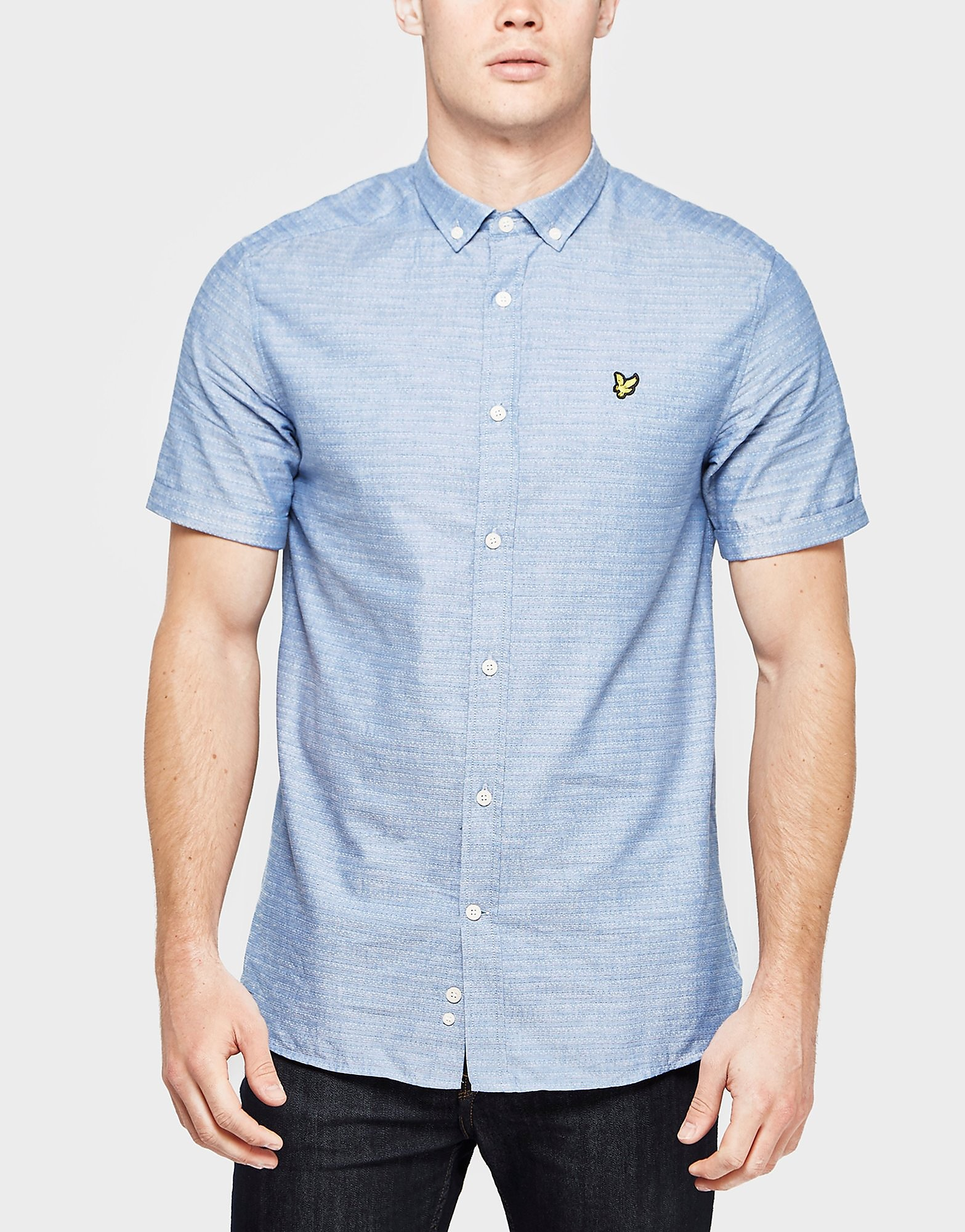 Lyle & Scott Running Stitch Short Sleeve Shirt
