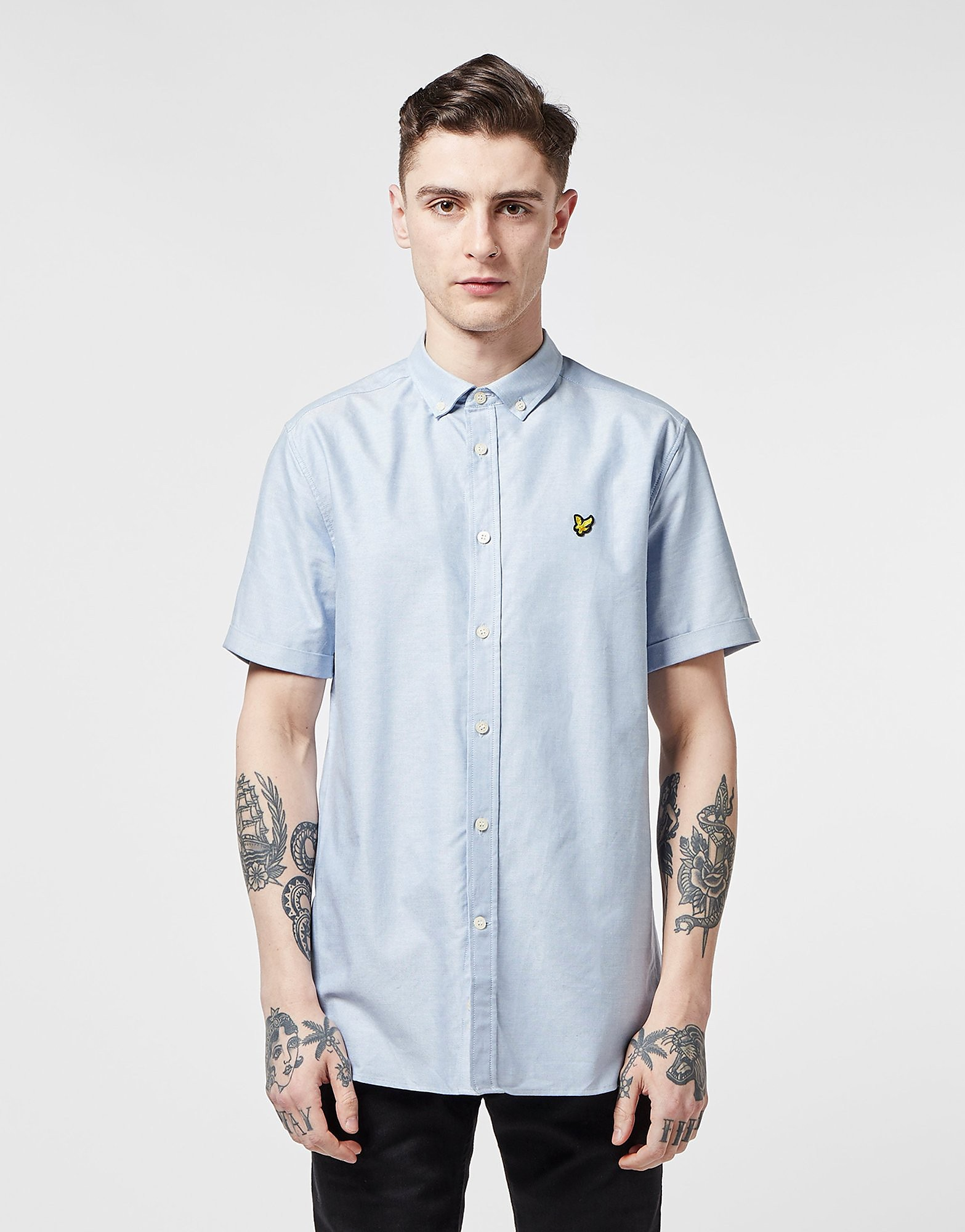 Lyle & Scott Oxford Short Sleeve Shirt