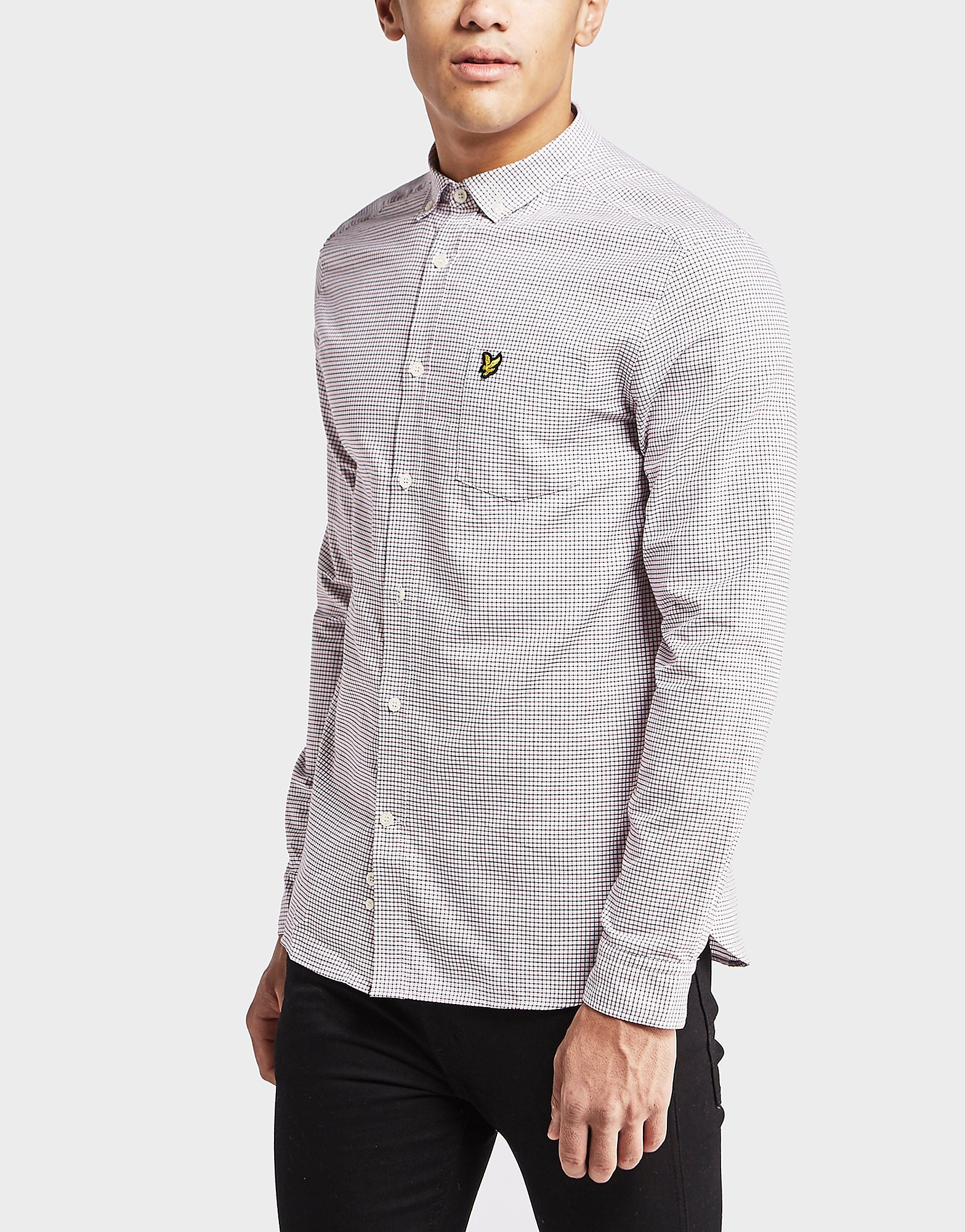Lyle & Scott Long Sleeve Tattersall Shirt