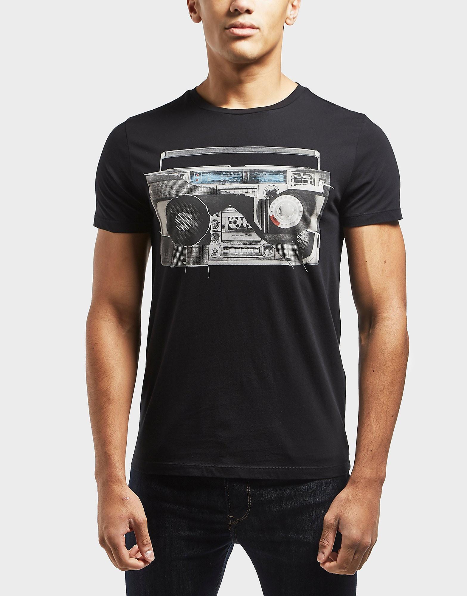 BOSS Orange Stereo Short Sleeve T-Shirt