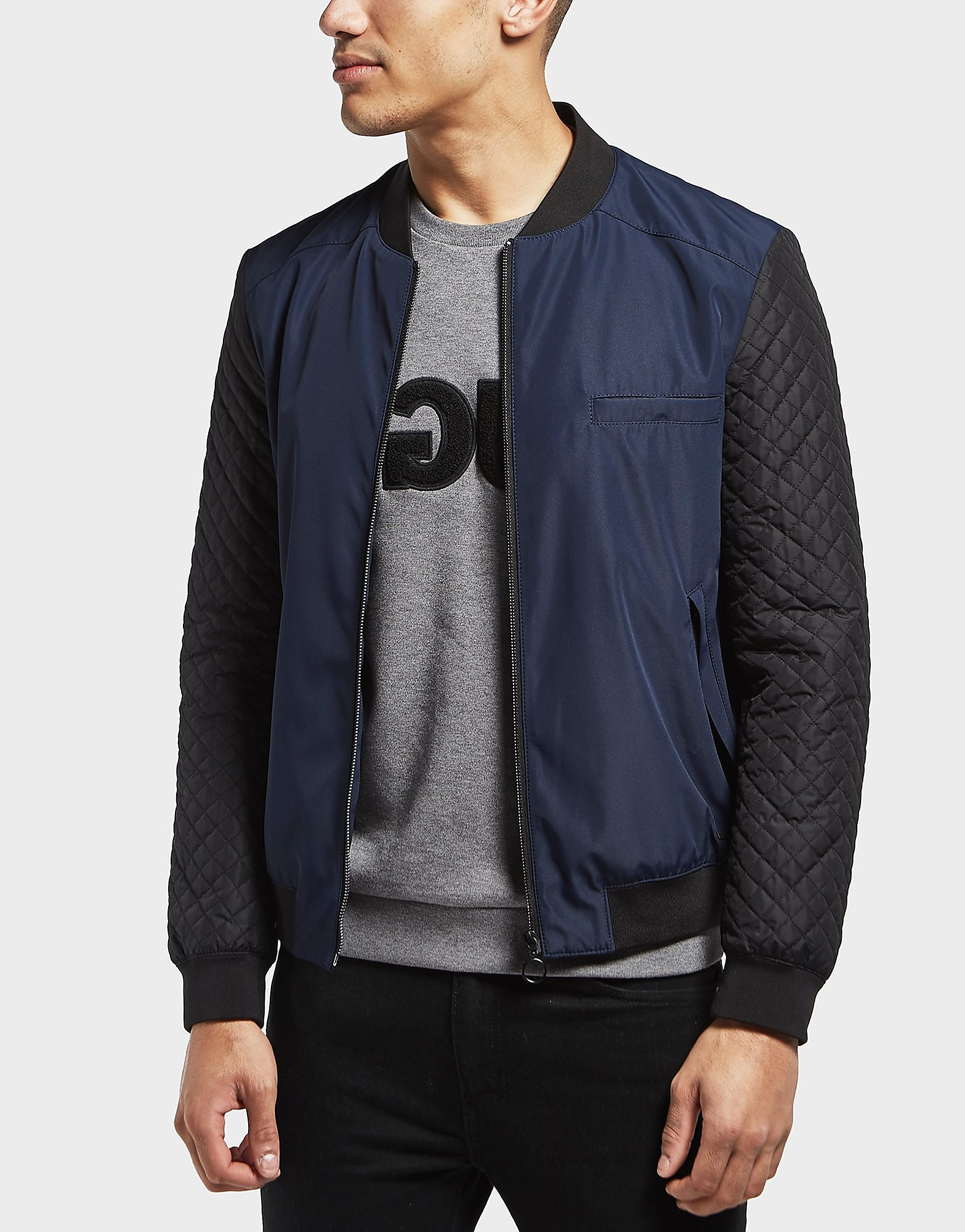 HUGO Technical Padded Bomber Jacket