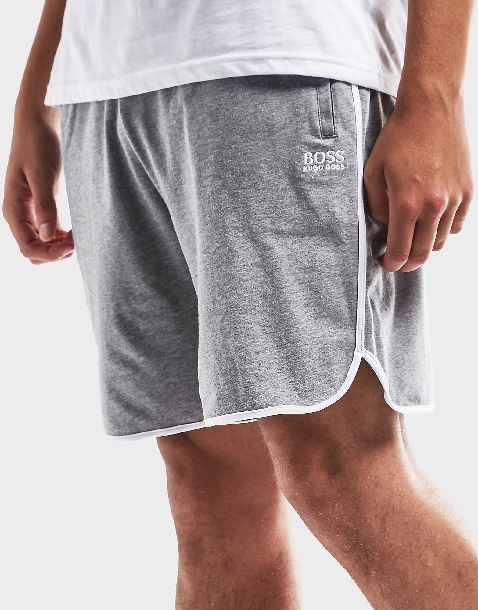 BOSS Logo Fleece Shorts