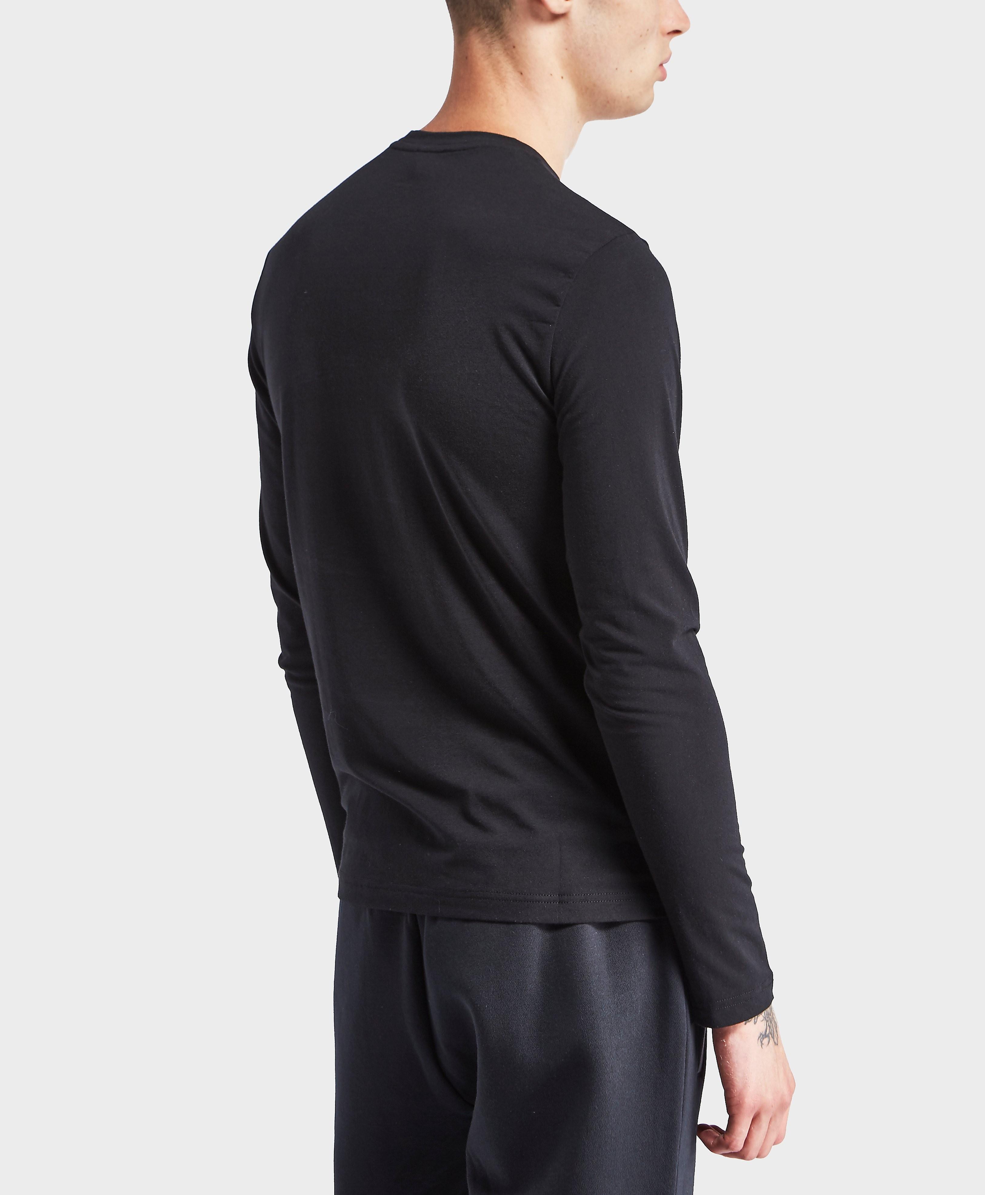 Emporio Armani EA7 Shield Logo Long Sleeve T-Shirt - Exclusive