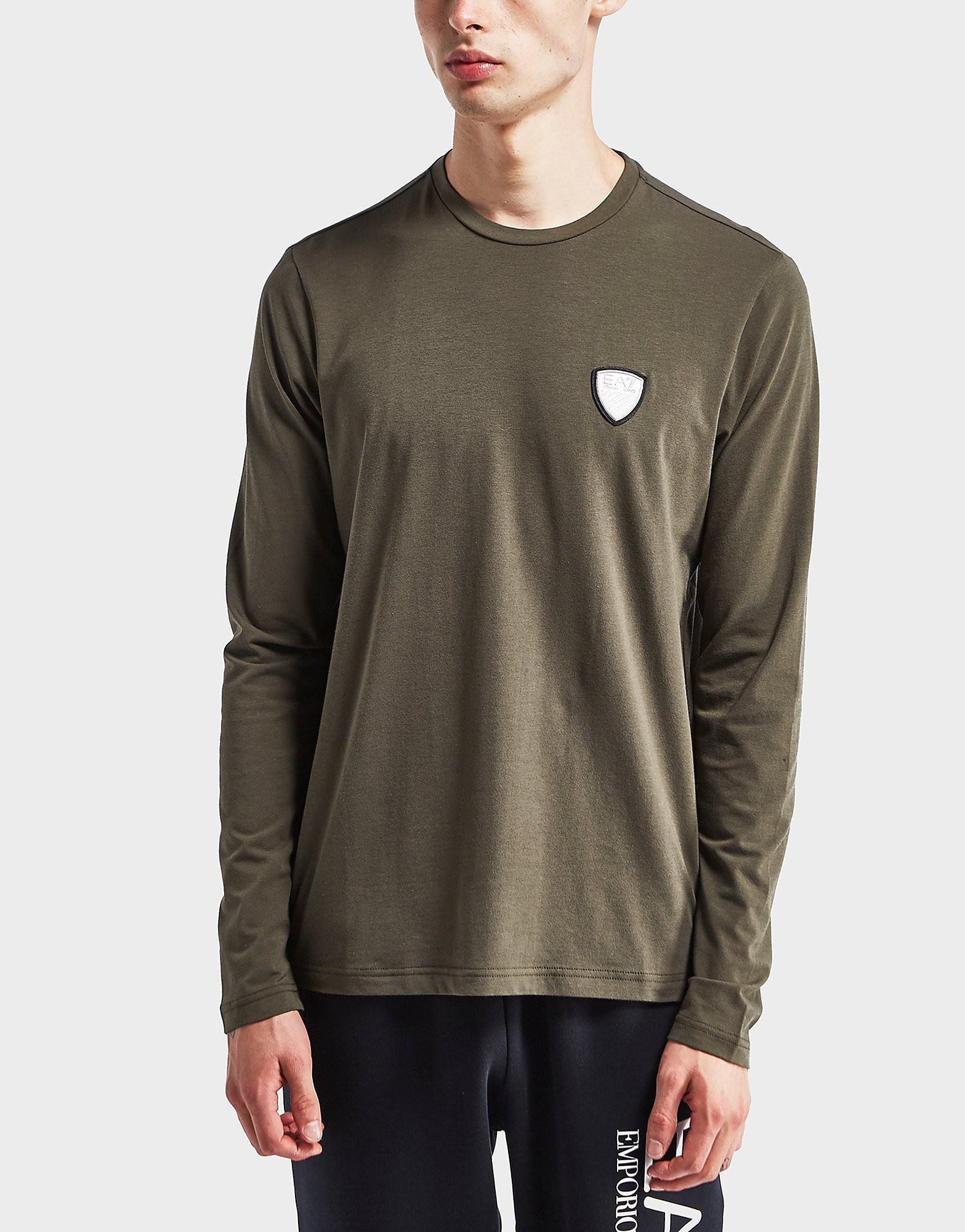 Emporio Armani EA7 Shield Logo Long Sleeve T-Shirt