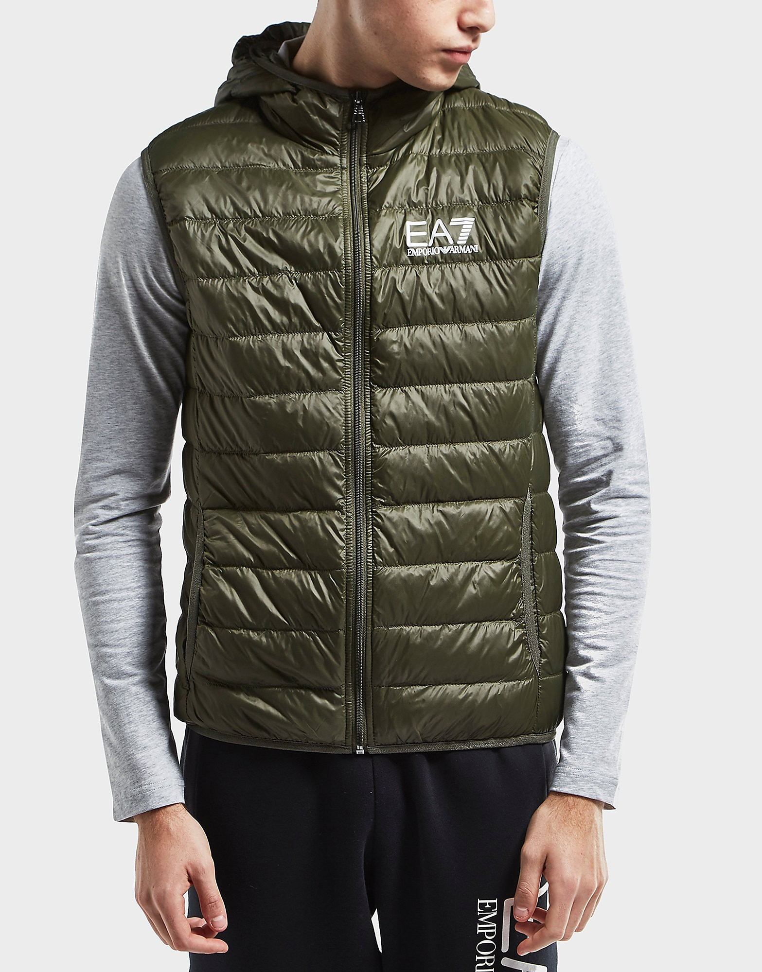 Emporio Armani EA7 Hooded Padded Gilet - Exclusive