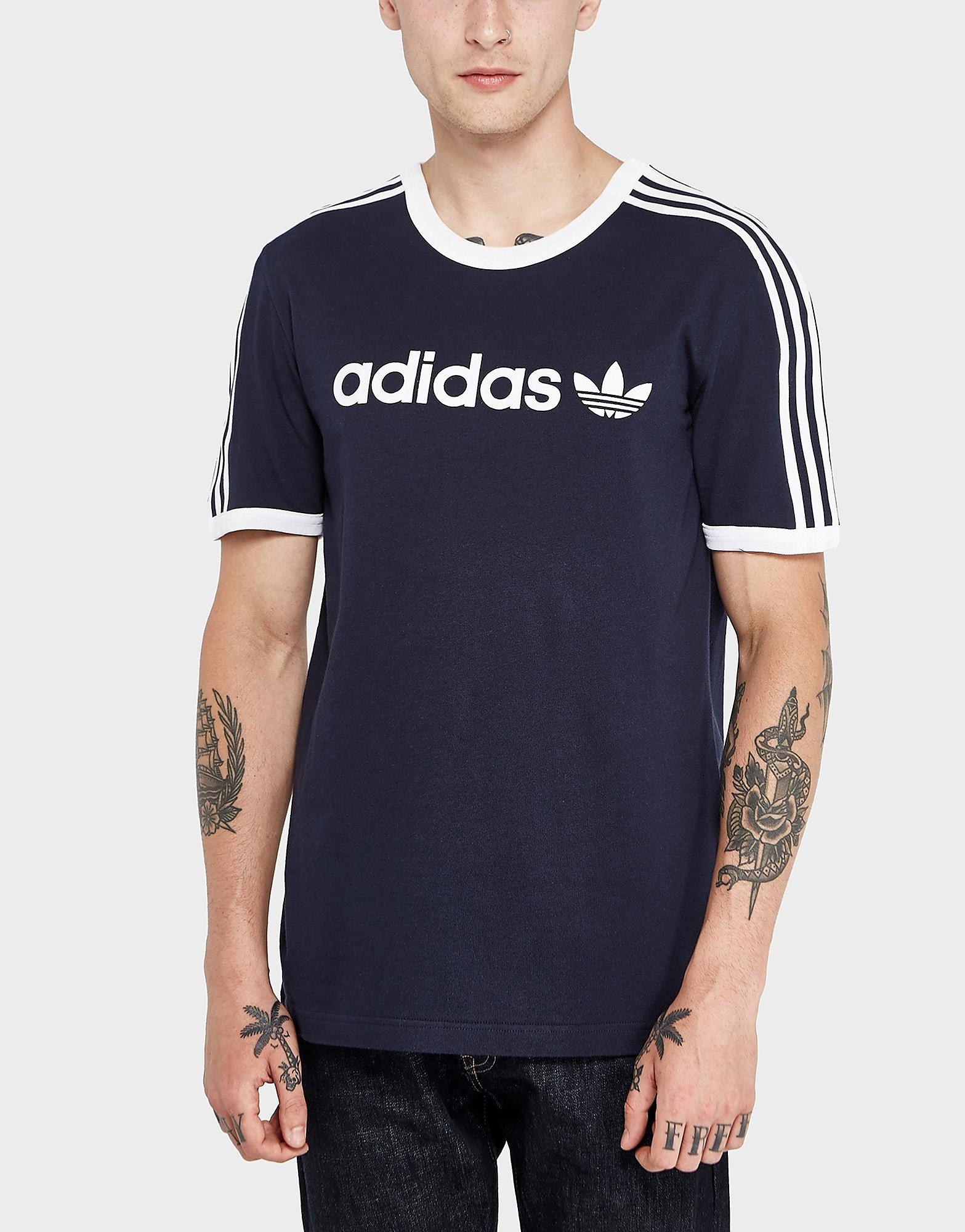 adidas Originals Linear Short Sleeve T-Shirt