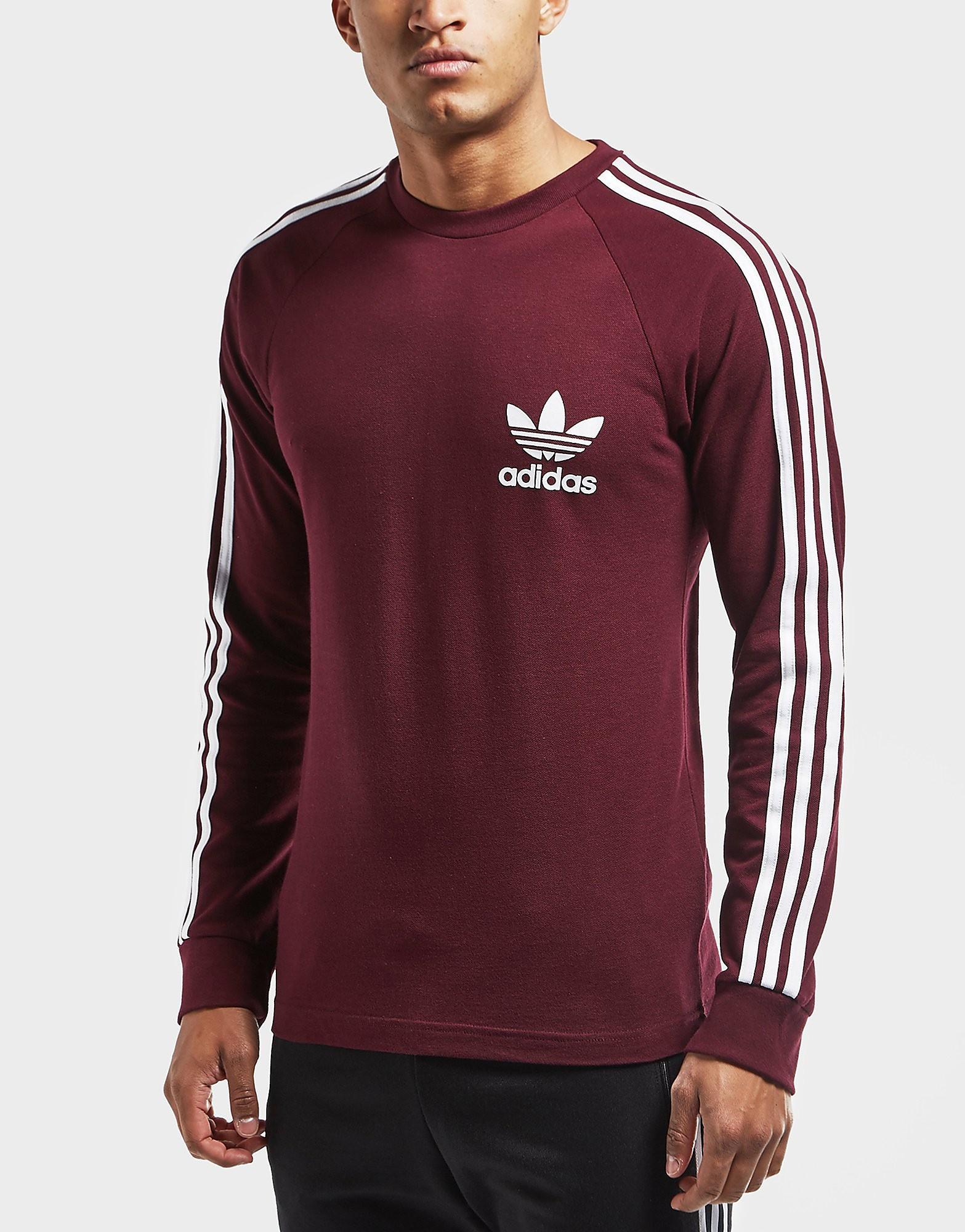adidas Originals Pique Cali Long Sleeve T-Shirt