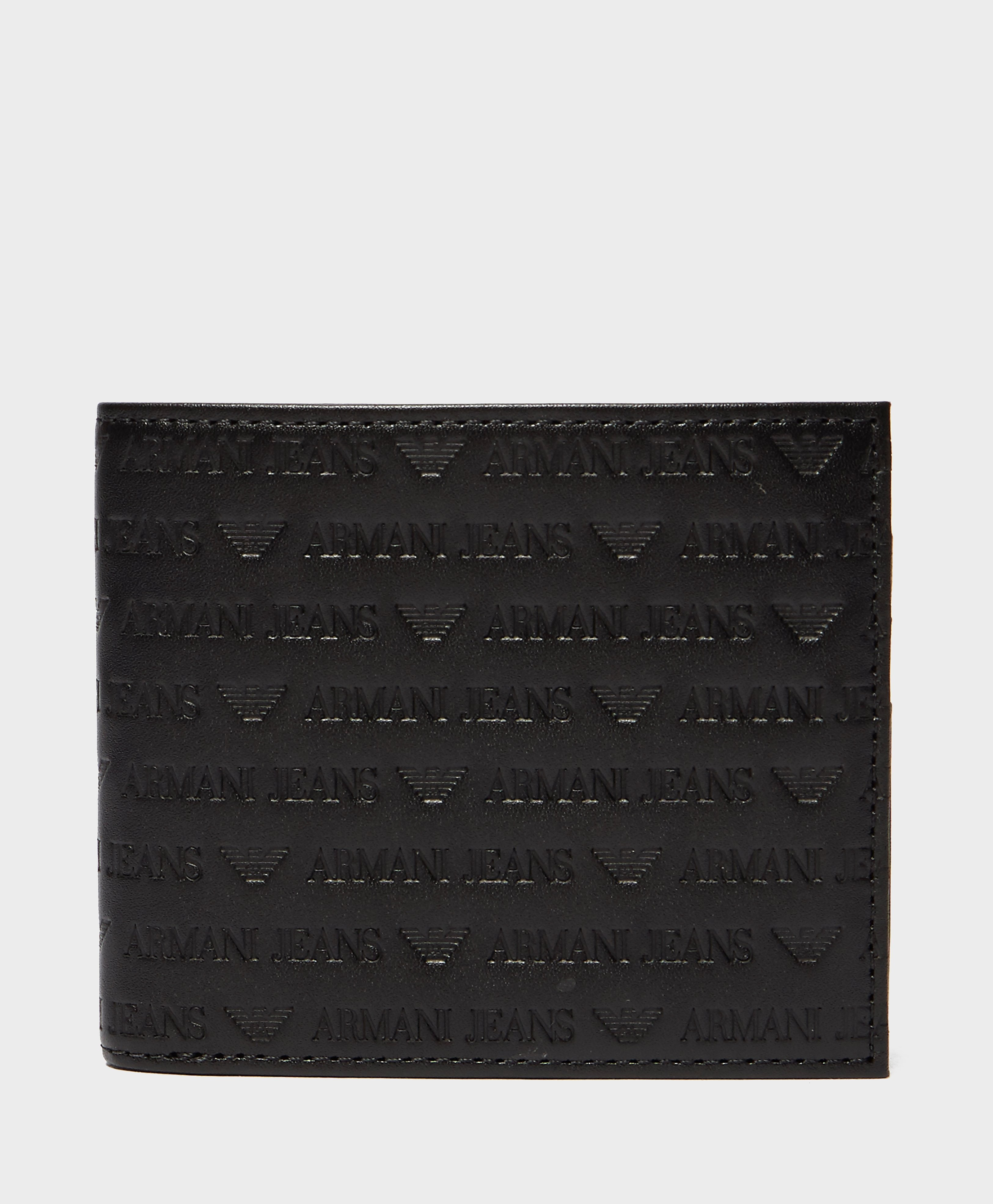 Armani Jeans Embossed Logo Wallet