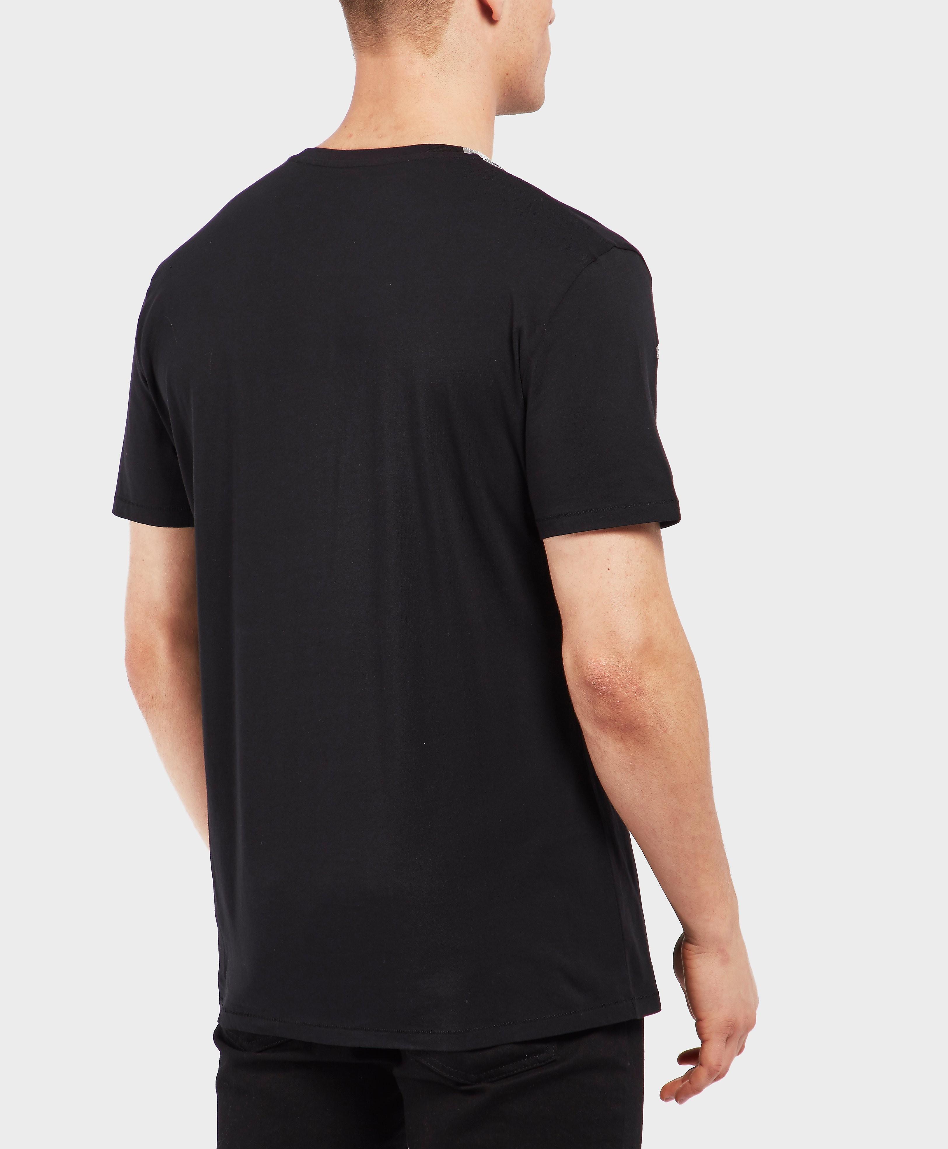 Just Cavalli Lion Star Print Short Sleeve T-Shirt