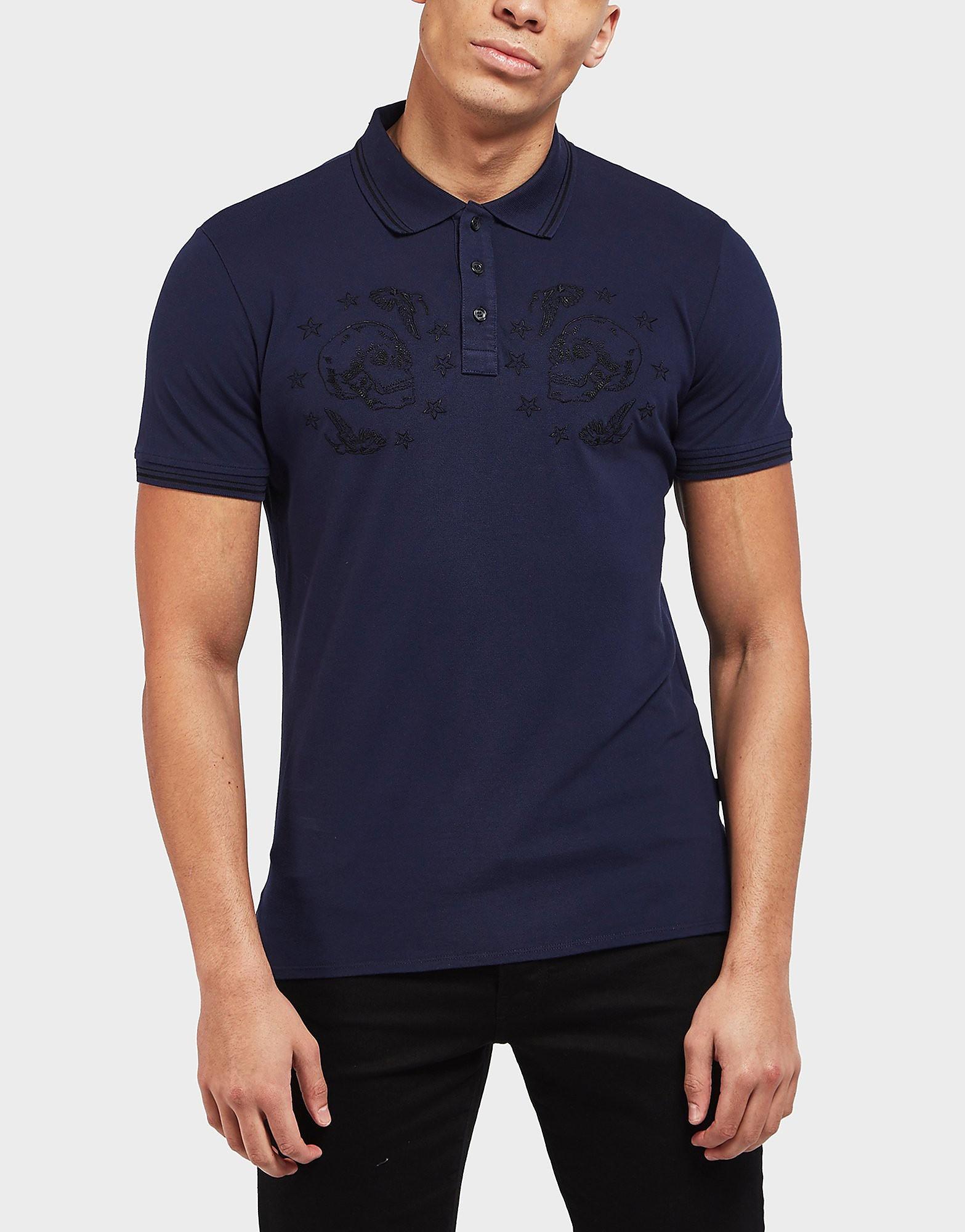 Just Cavalli Skull Short Sleeve Polo Shirt