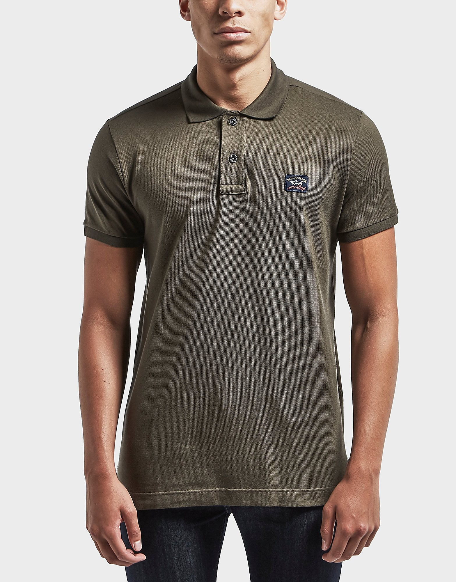 Paul and Shark Basic Short Sleeve Polo Shirt