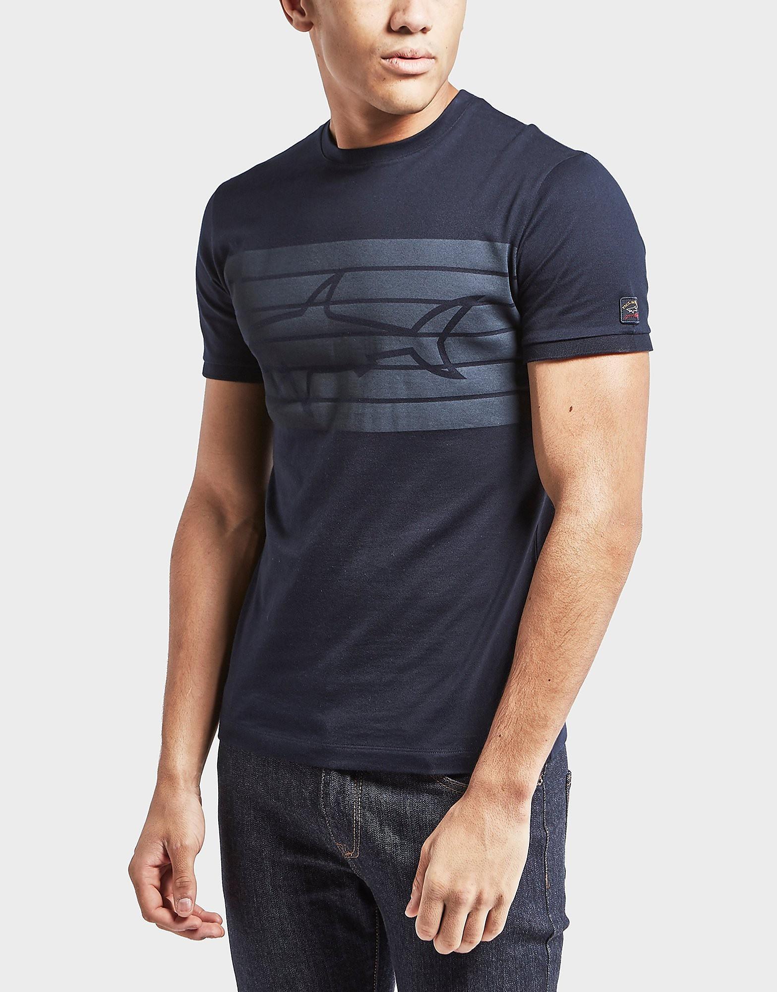Paul and Shark Short Sleeve Shark T-Shirt