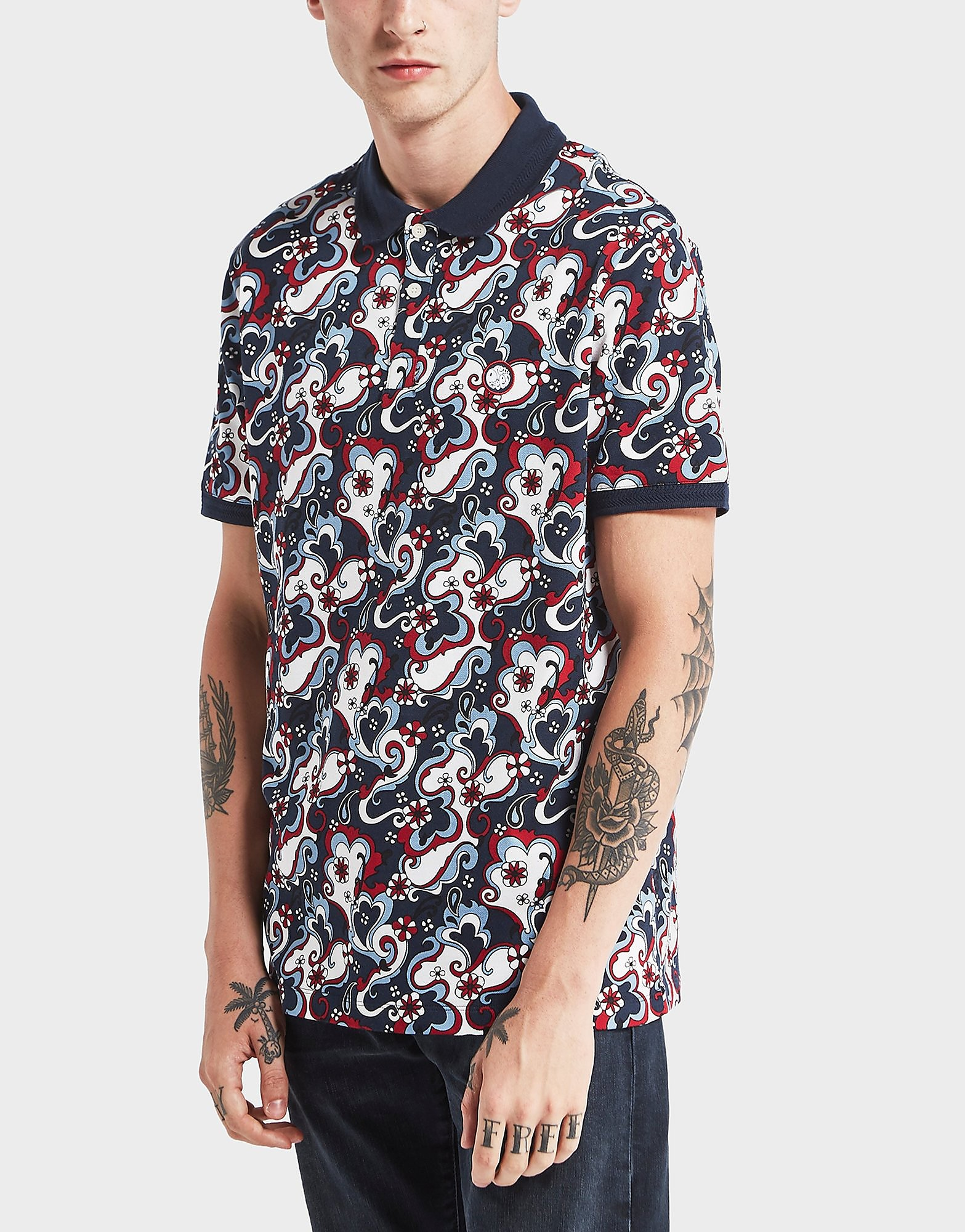 Pretty Green Beaufort Short Sleeve Polo Shirt