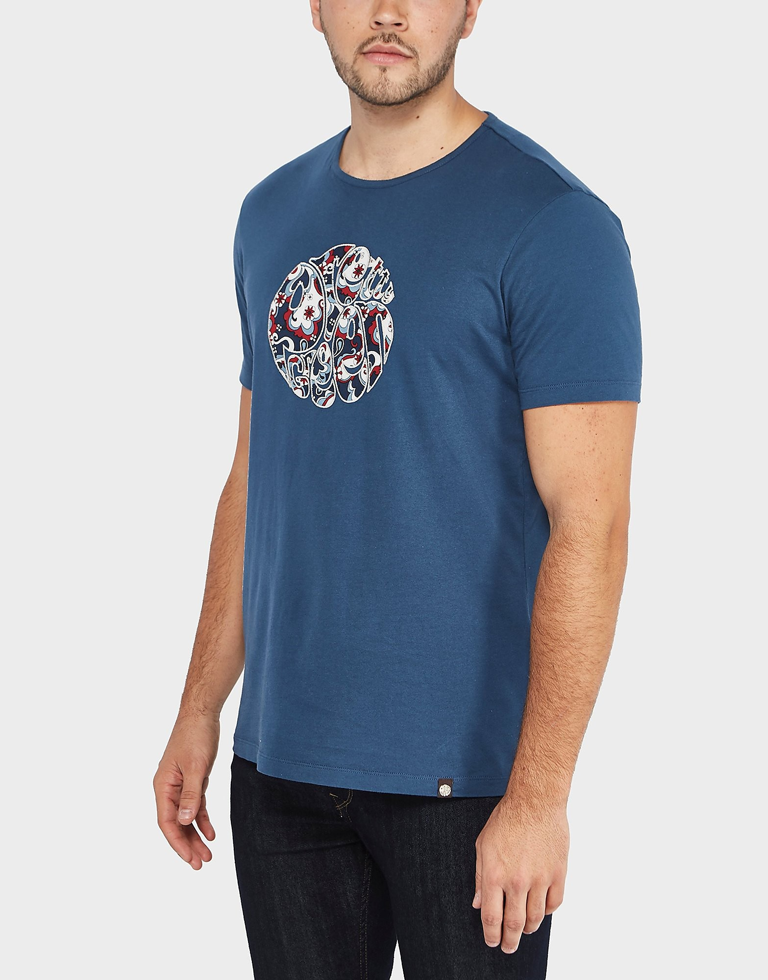 Pretty Green Beaufort Logo Short Sleeve T-Shir t